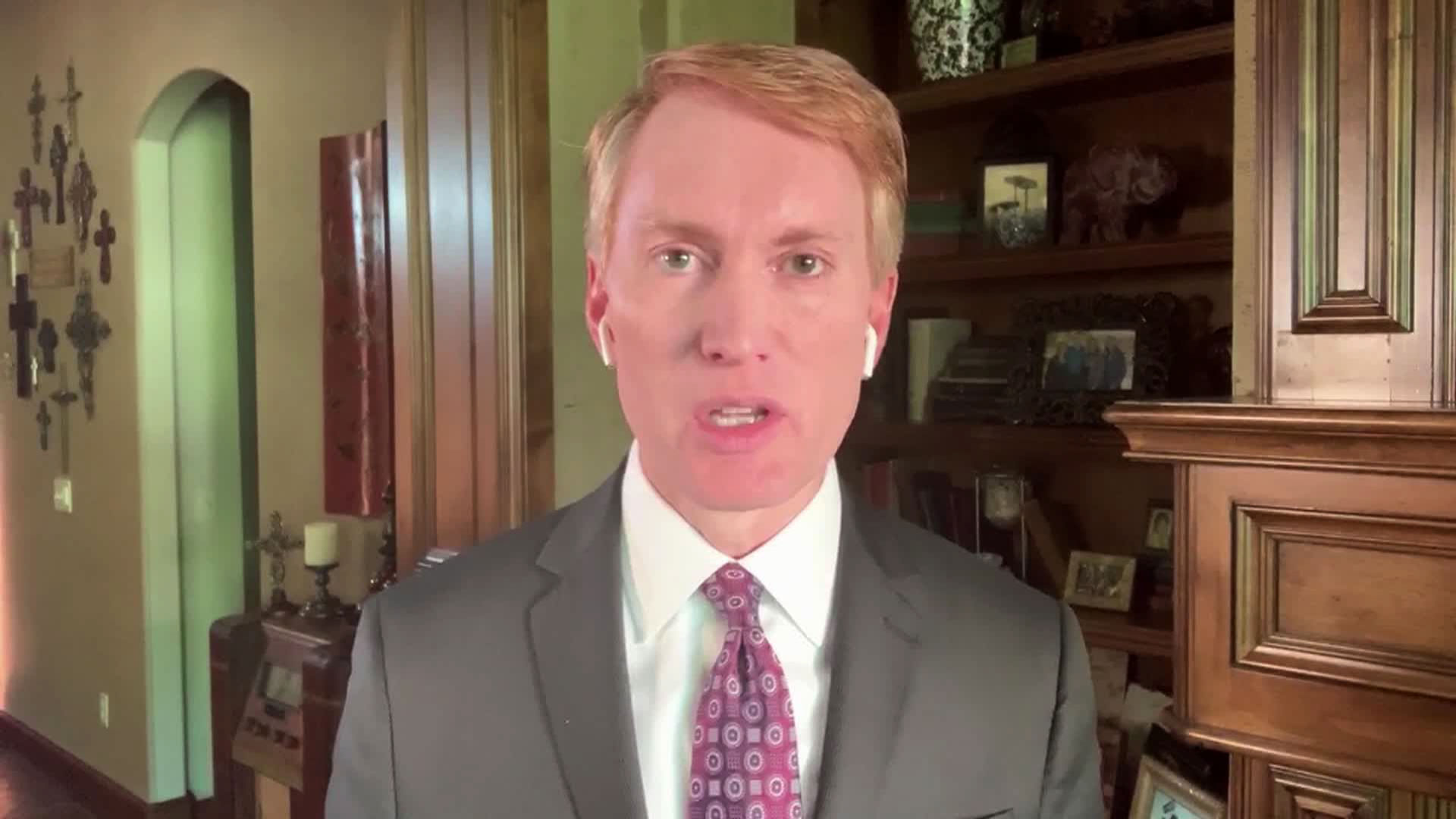 Oklahoma Senator James Lankford speaks with CNN's Jake Tapper on Sunday, June 14.
