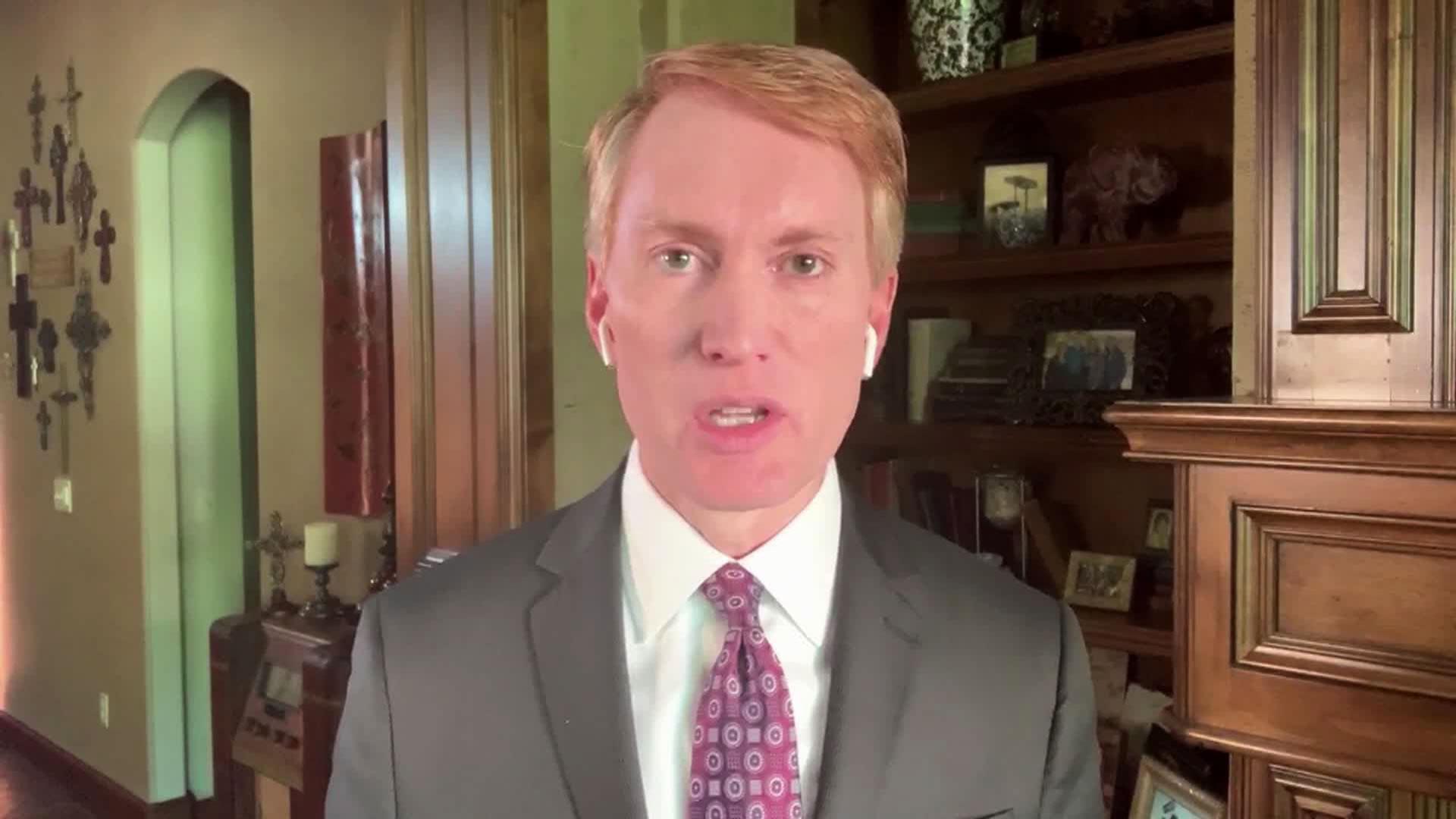 Oklahoma Senator James Lankford speaks with CNN's Jake Tapper on Sunday, June 14.