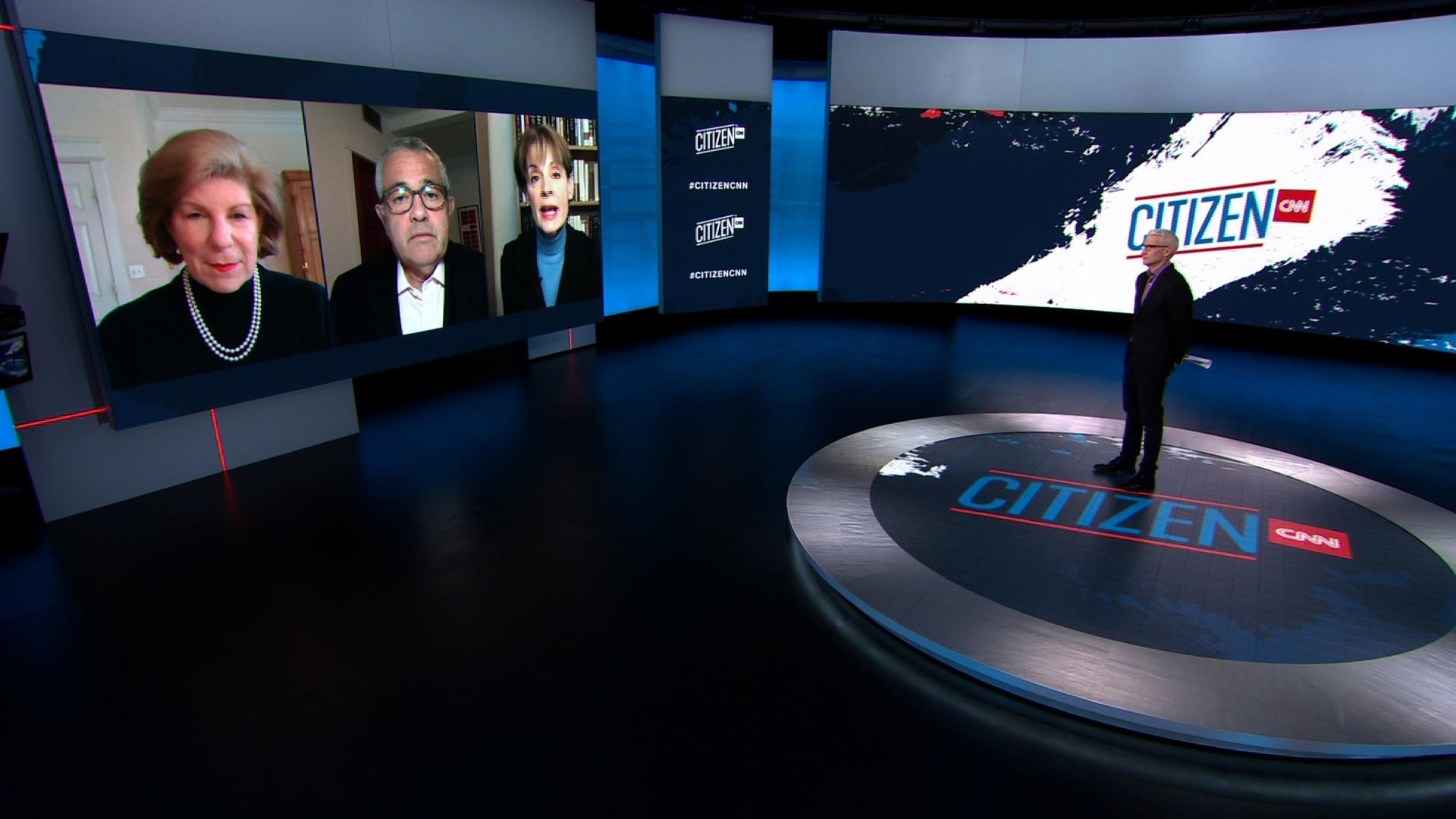 Nina Totenberg, Jeffrey Toobin and Joan Biskupic speak with Anderson Cooper.