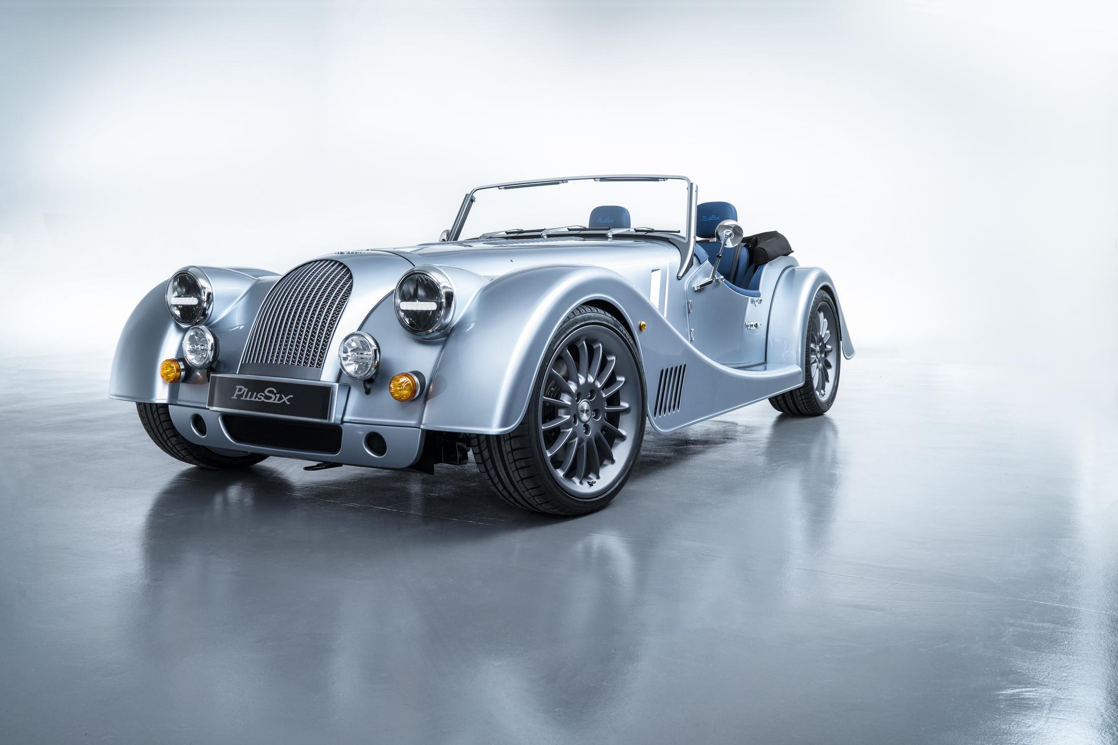 Morgan Motor Company unveiled the Plus Six in Geneva.