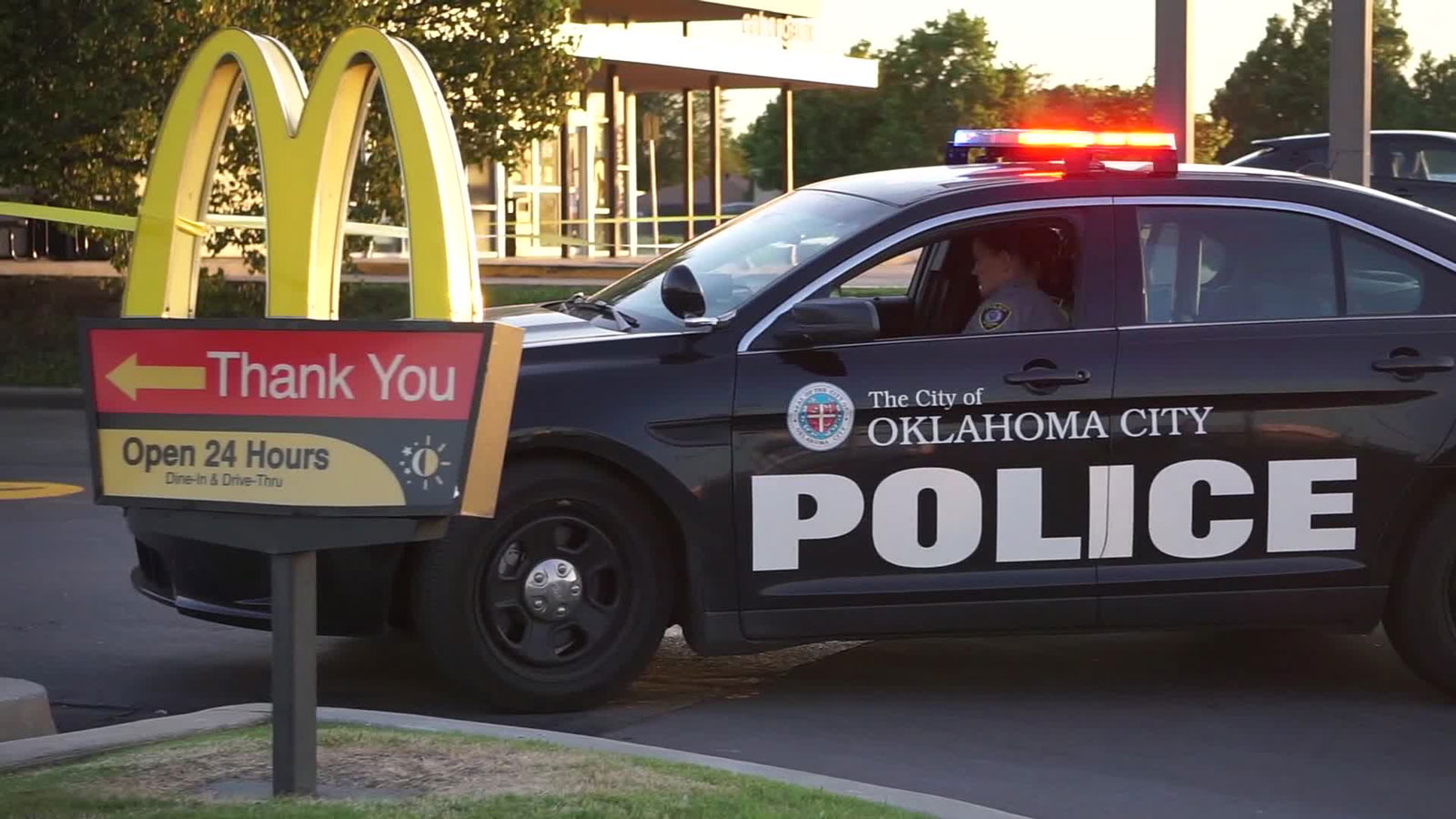 Oklahoma City Police say two suspects shot McDonald's employees after being told to leave due to coronavirus restrictions.