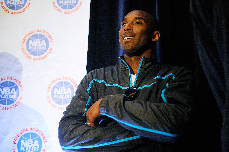 Kobe Bryant in New York on October 4, 2011.