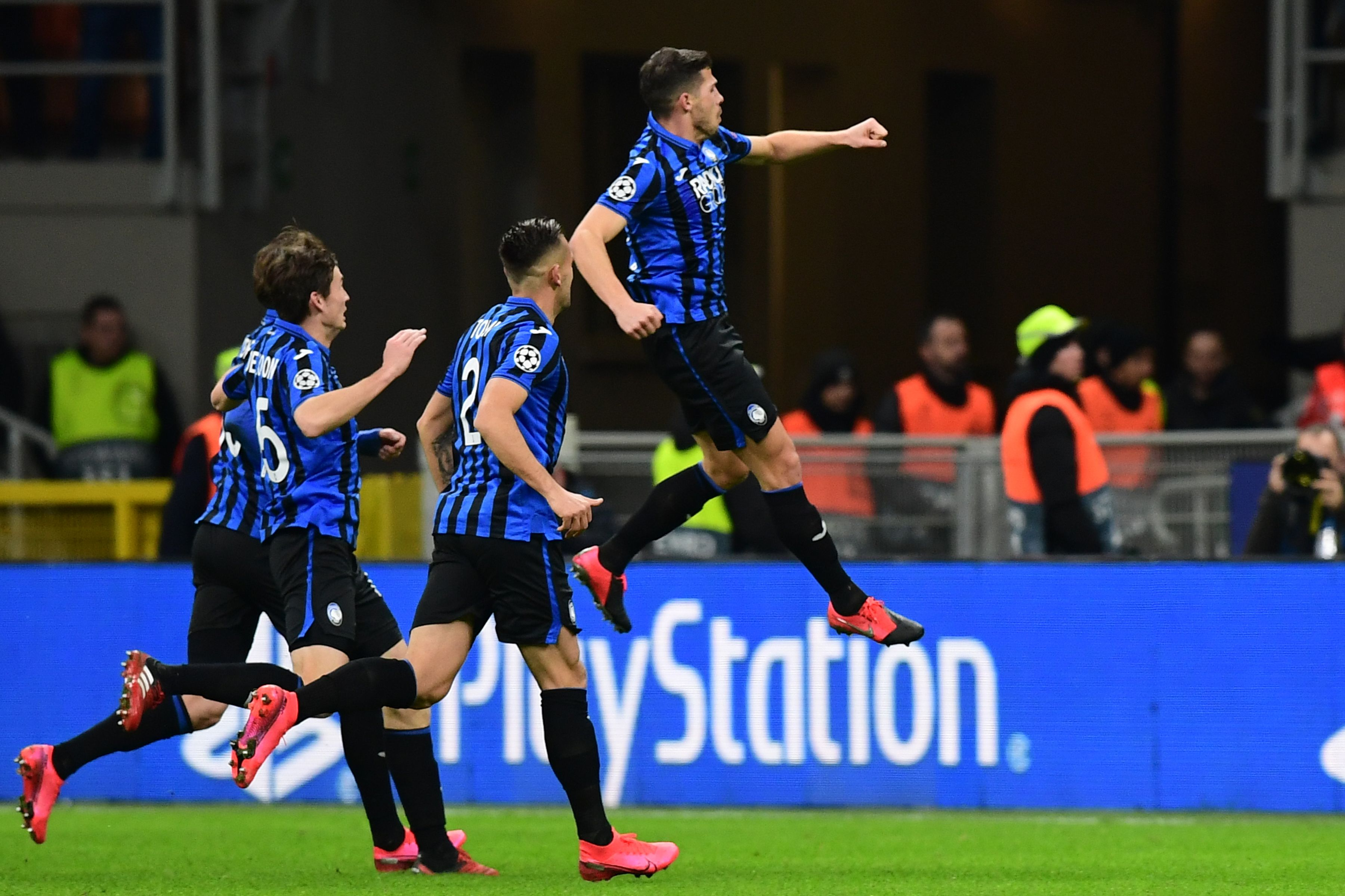 Atalanta ran out deserved winners against a poor Valencia side.