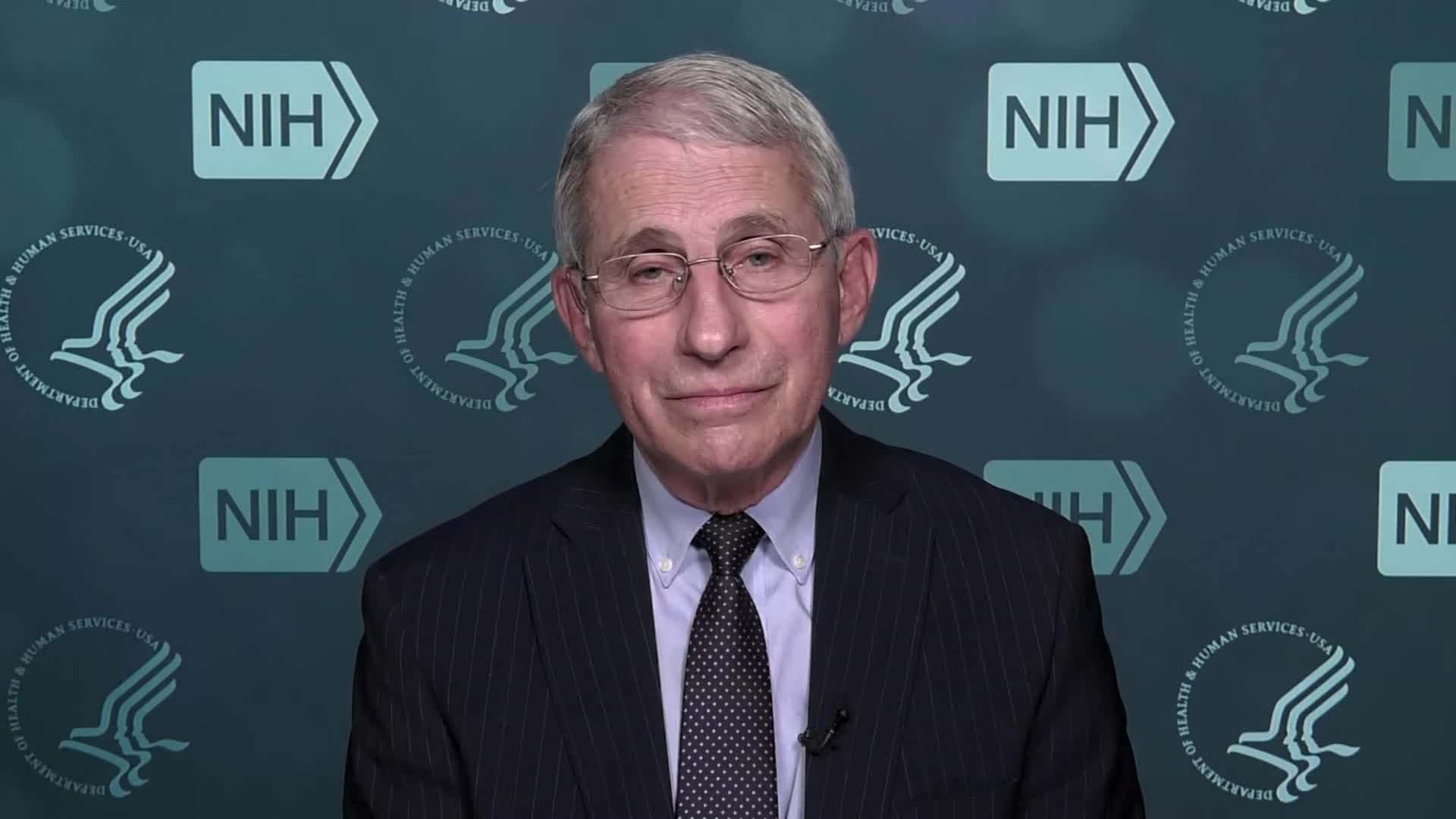Dr. Anthony Fauci on December 10.