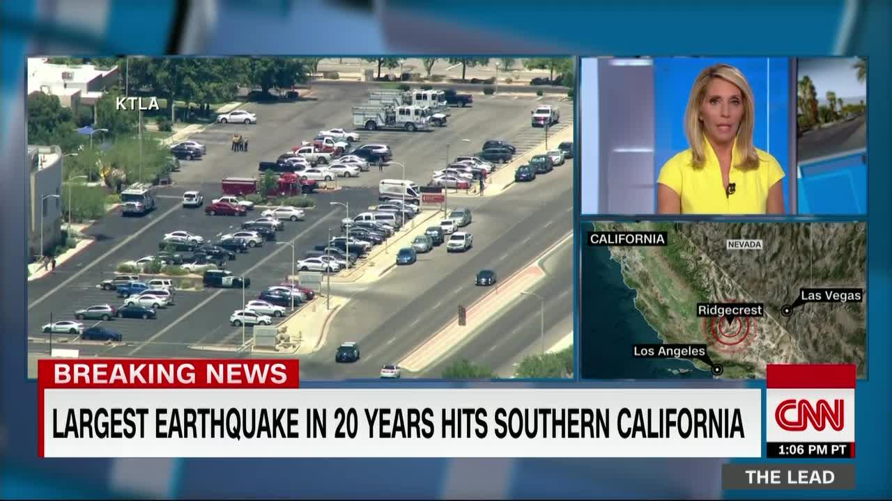 Live updates: Earthquake rattles California near Ridgecrest