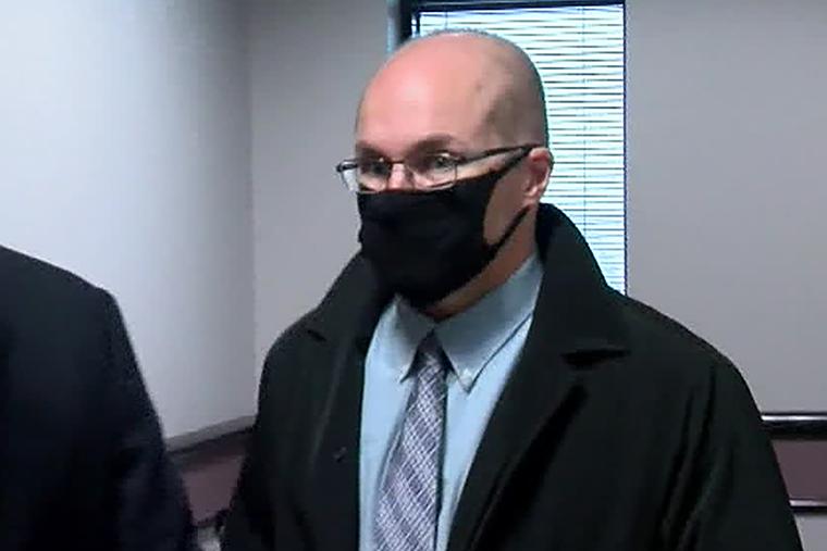 Pharmacist Steven Brandenburg appears in court on Wednesday, January 20.