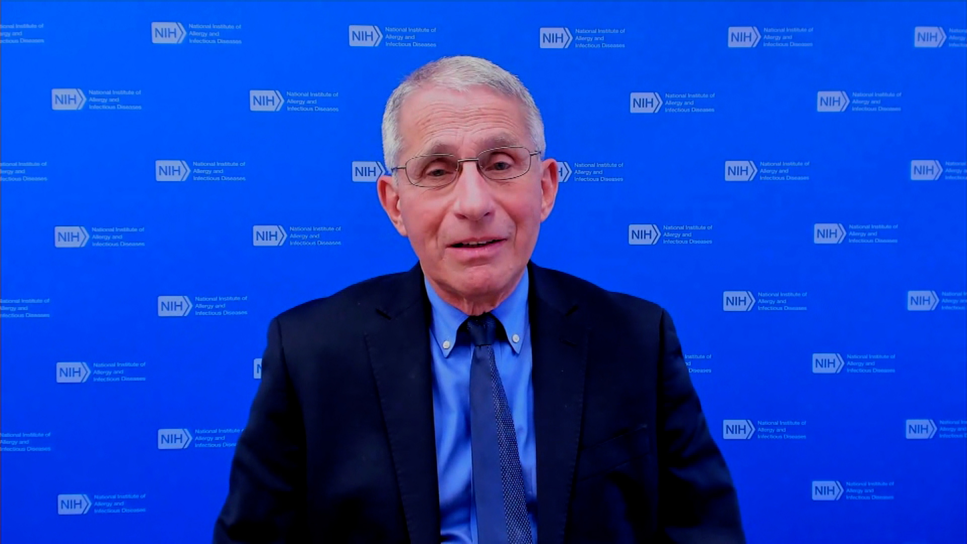 Dr. Anthony Fauci speaks during an interview on March 4.