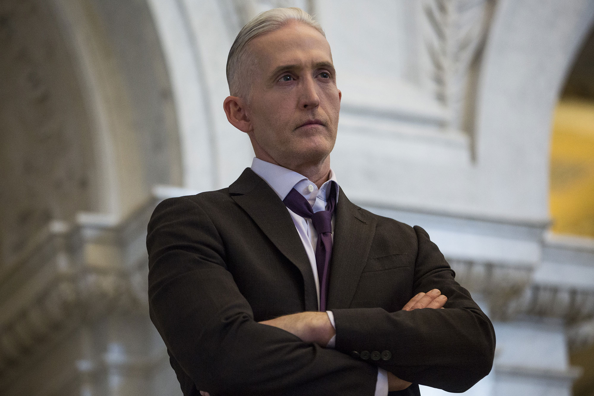 Trey Gowdy, a former congressman from South Carolina, is pictured at the Library of Congress in Washington, in December 2018.