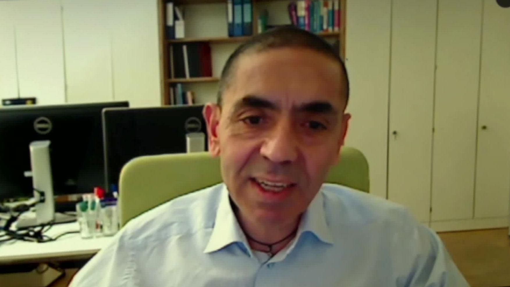 BioNTech CEO Uğur Şahin speaks with CNN on Wednesday, November 18.