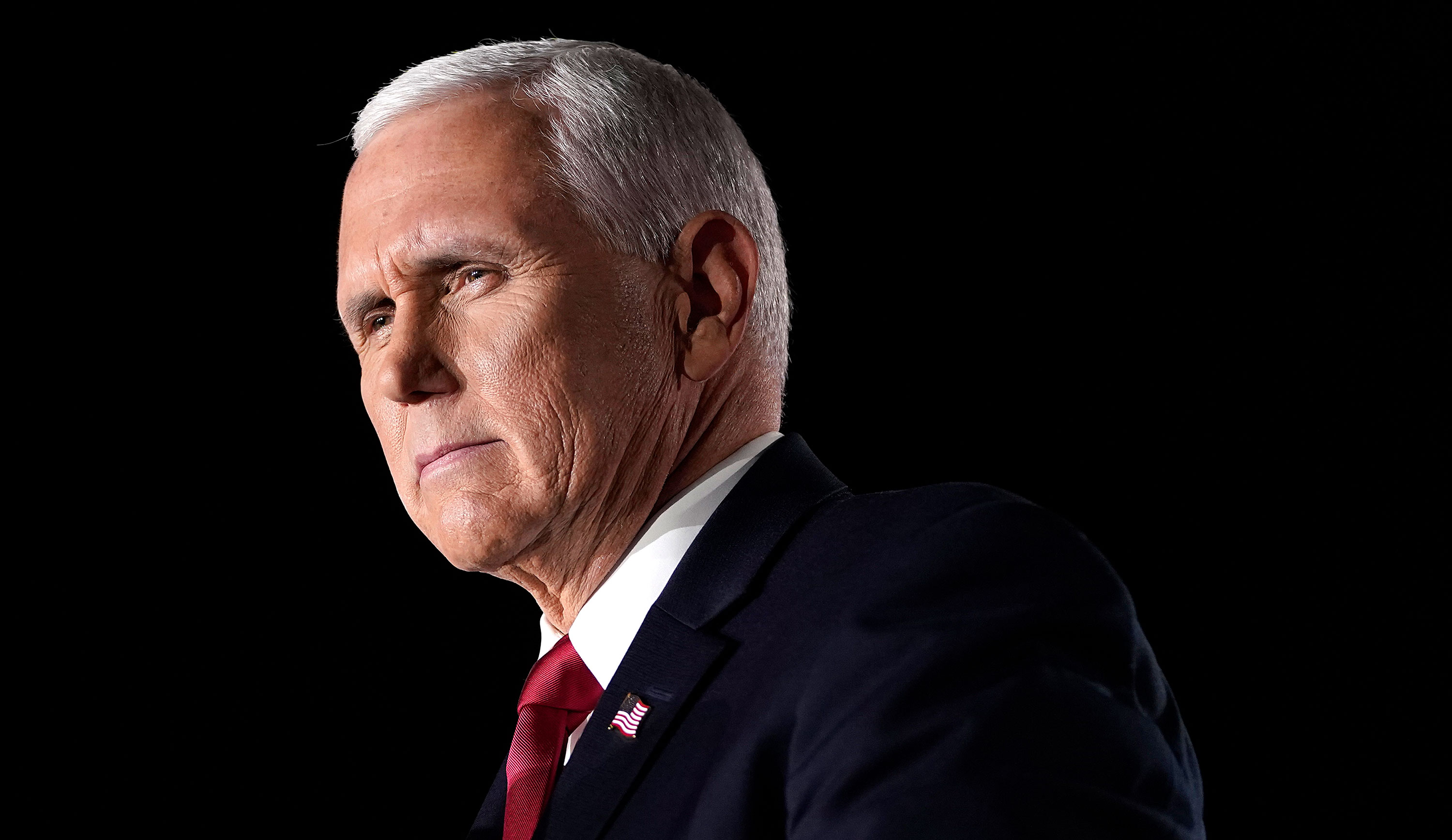 Mike Pence attends the Republican National Convention on August 26 in Baltimore, Maryland.