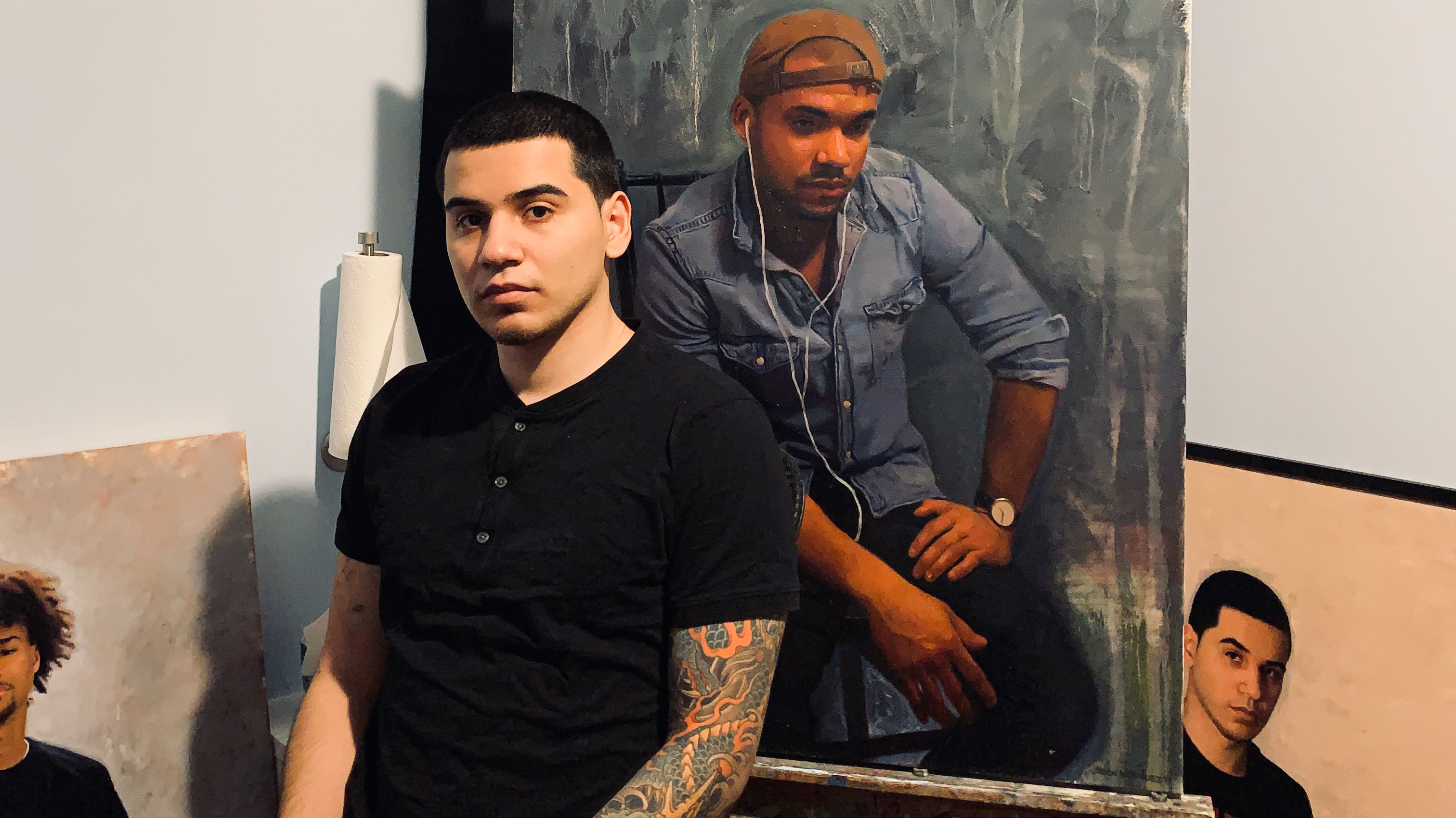 Artist Devon Rodriguez is a native New Yorker born and raised in the south Bronx.