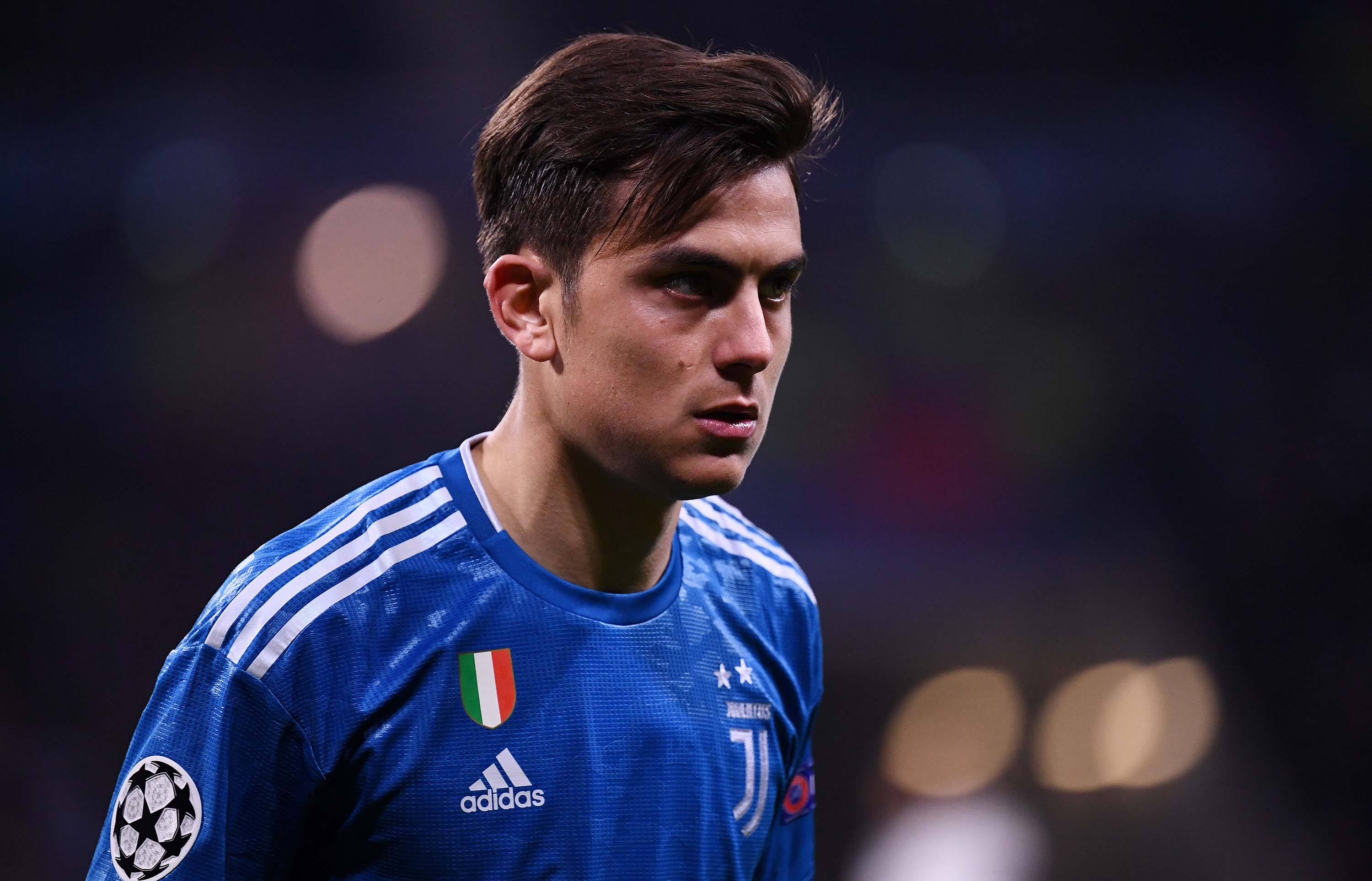 Juventus' Argentine forward Paulo Dybala is pictured during the UEFA Champions League match between Lyon and Juventus at the Parc Olympique Lyonnais stadium in Decines-Charpieu, France, on February 26.