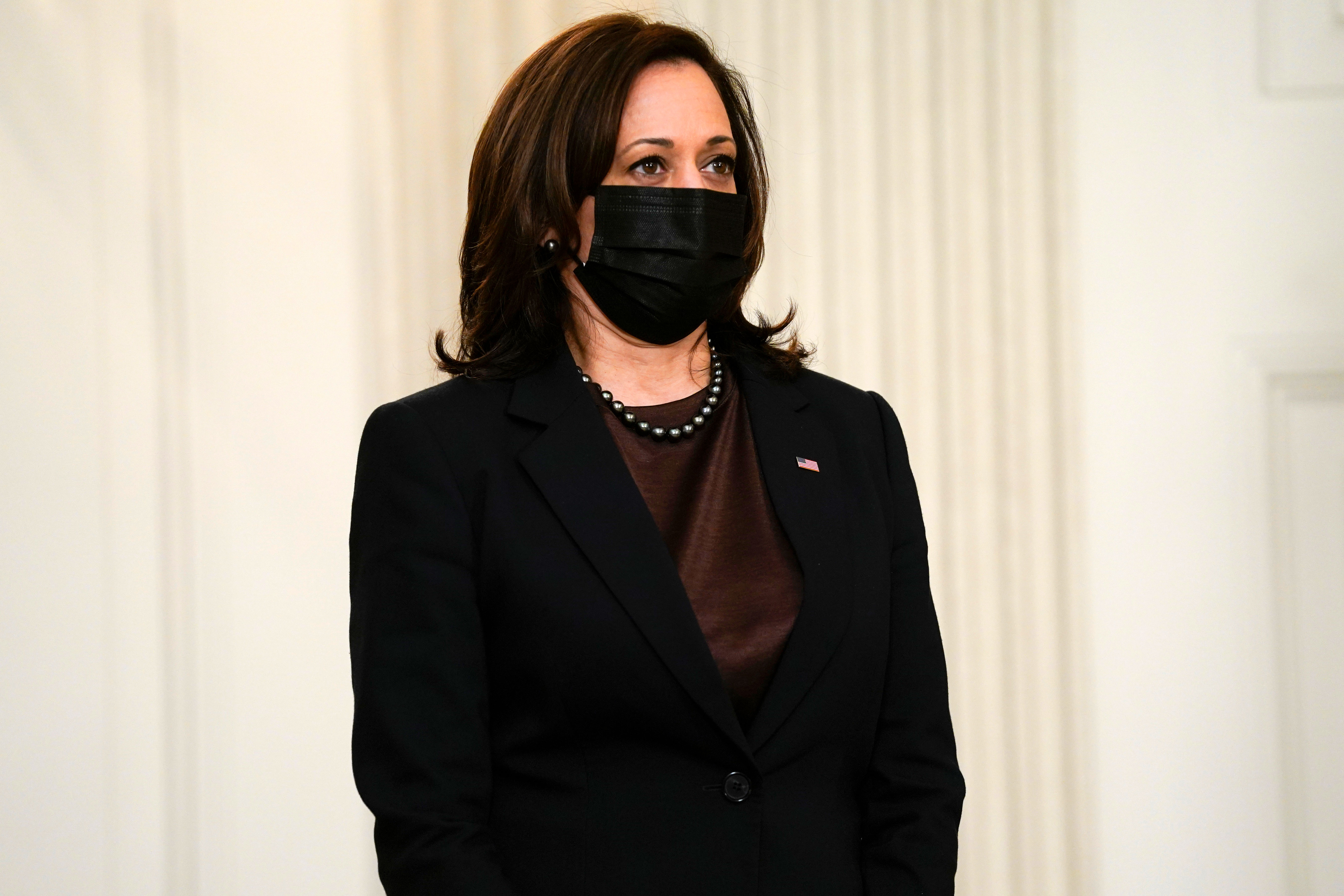 Vice President Kamala Harris at the White House on March 2.