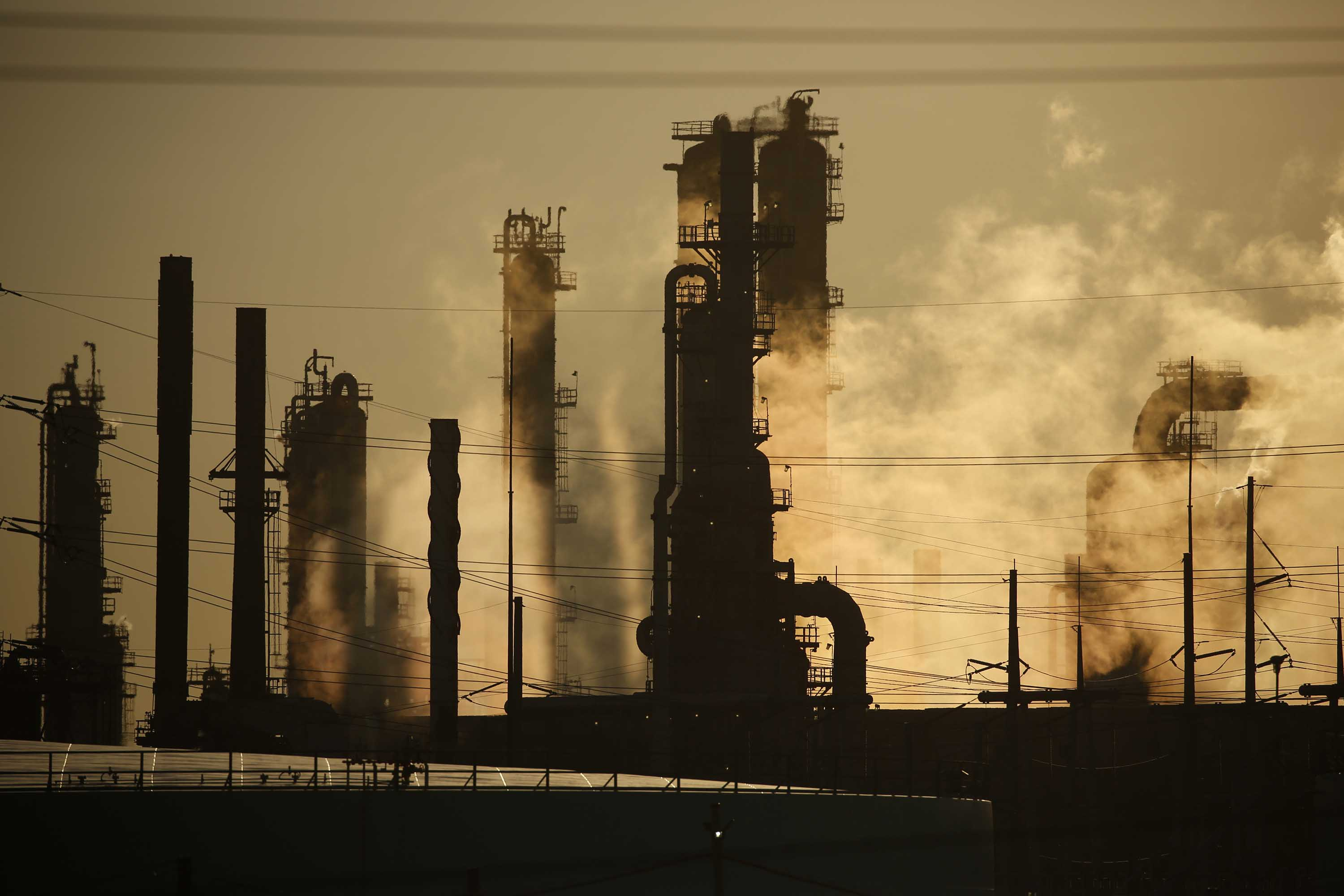 The Royal Dutch Shell Plc Norco Refinery is pictured in Norco, Louisiana, on June 12.