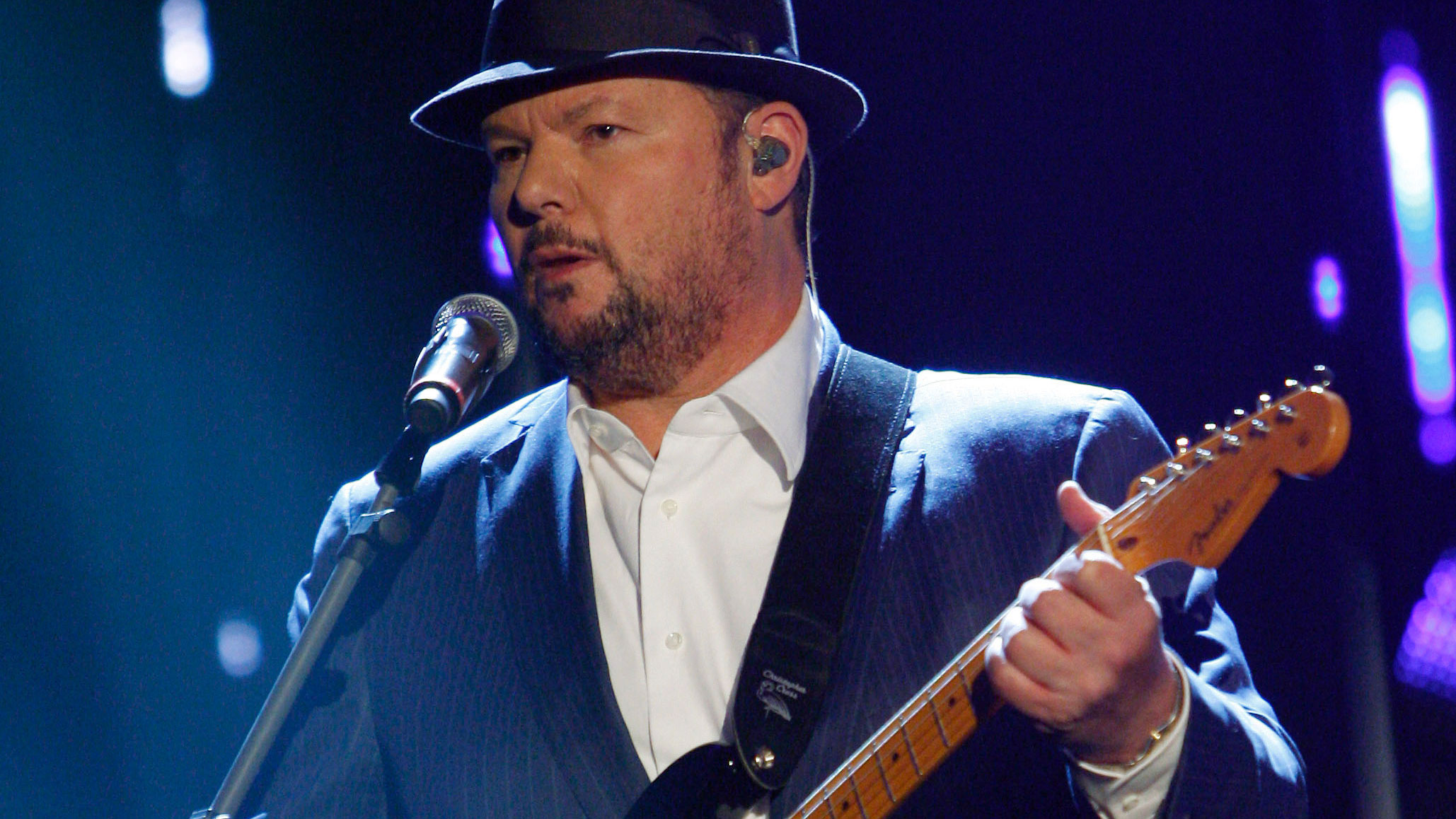 """Christopher Cross performs on the German TV game show """"Wetten Dass...?"""" in Offenburg, Germany on April 30, 2011."""