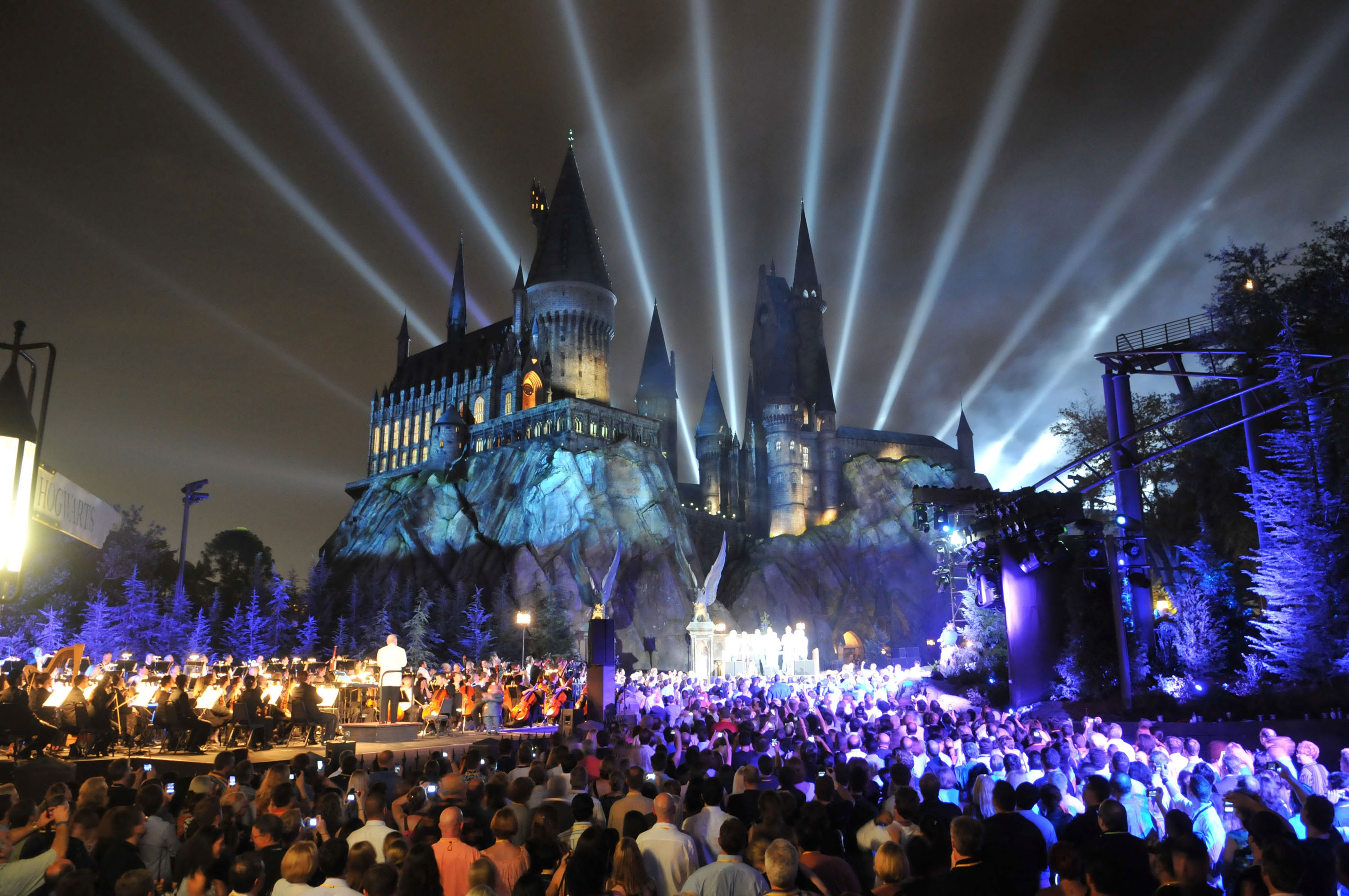 The Wizarding World of Harry Potter is seen at the Universal Orlando Resort
