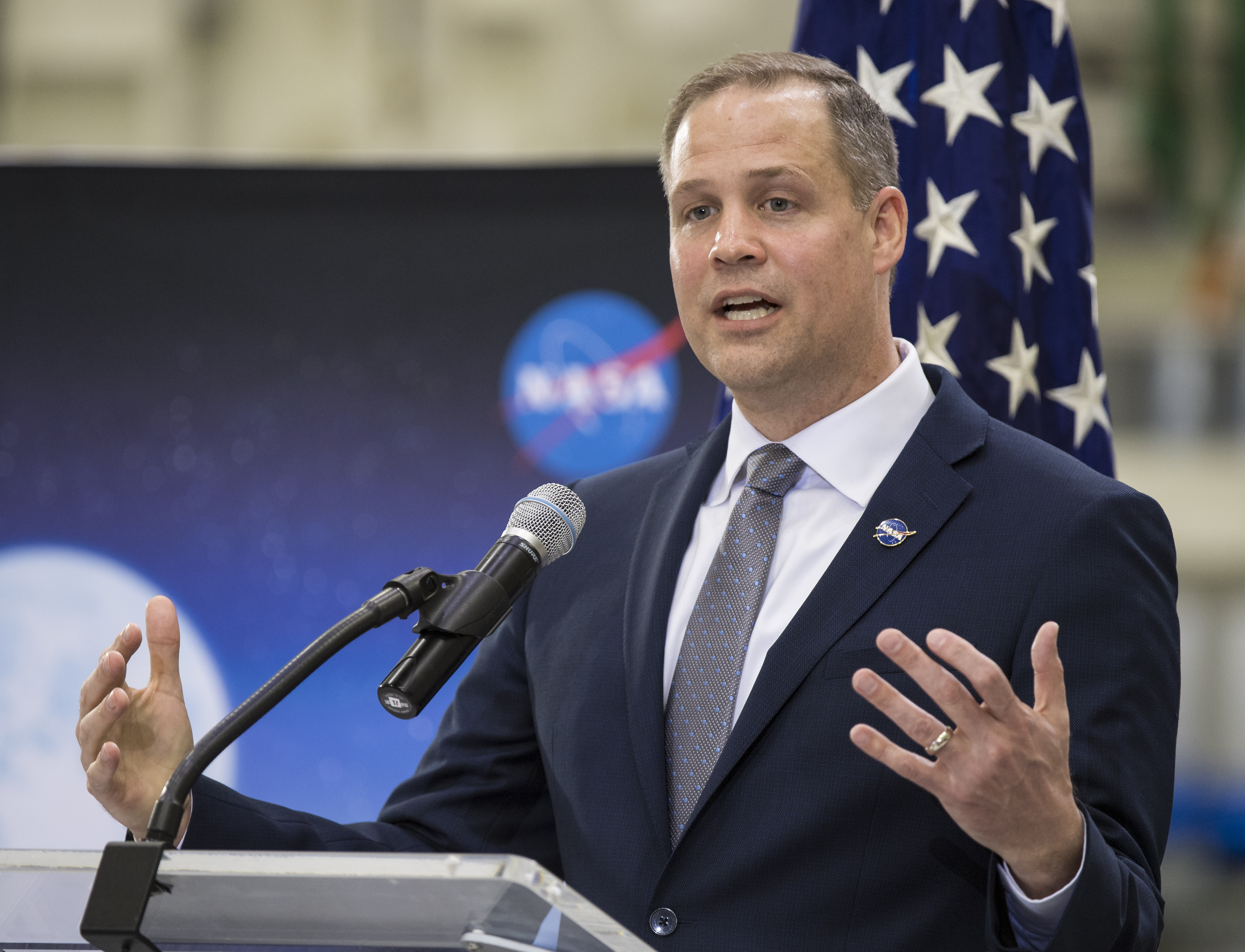 NASA Administrator Jim Bridenstine said that India's recent anti-satellite test increased the risk to the International Space Station by 44%.