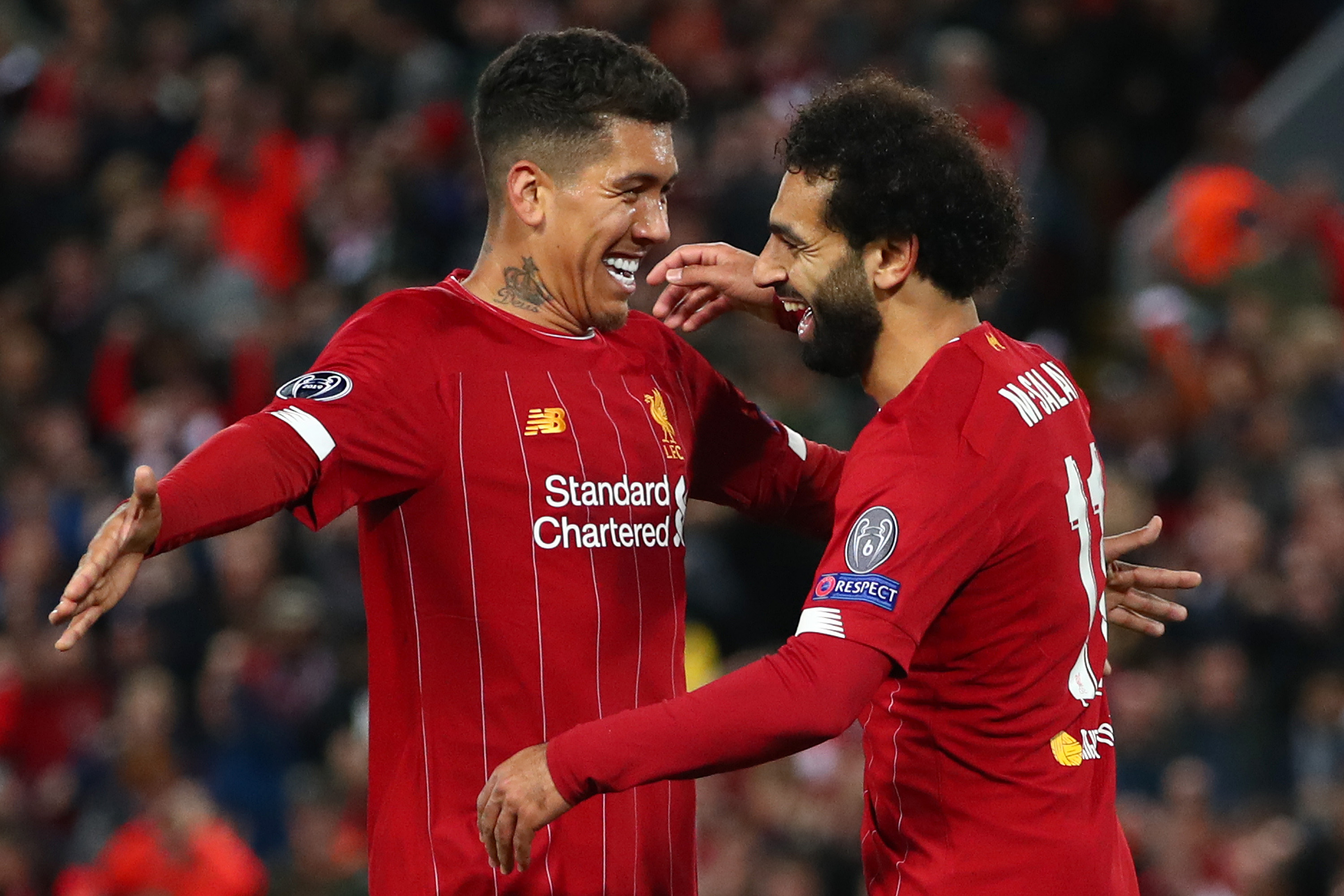 Mo Salah scored the vital winning goal for Liverpool.