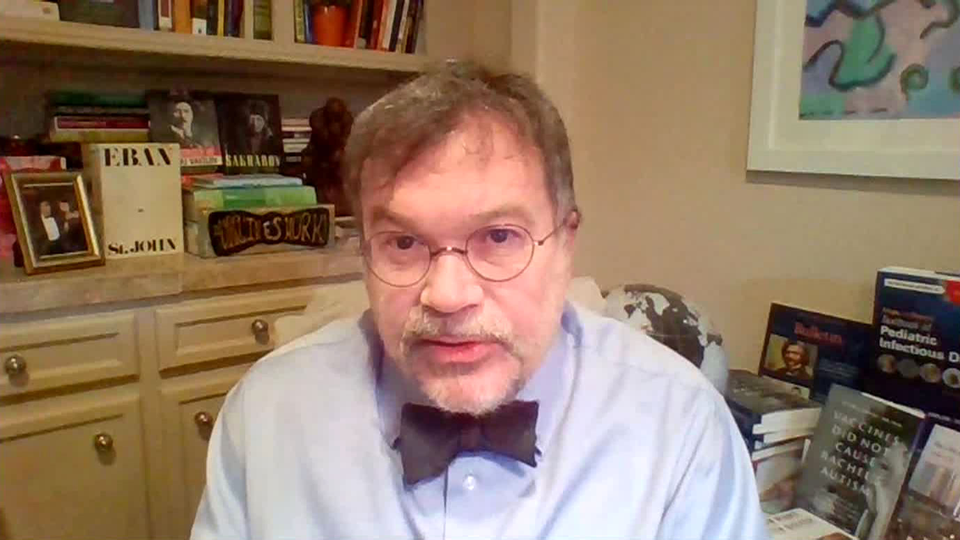 Dr. Peter Hotez speaks with CNN on Saturday, December 5.