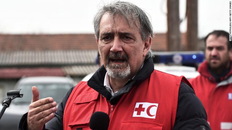 Red Cross chief Francesco Rocca