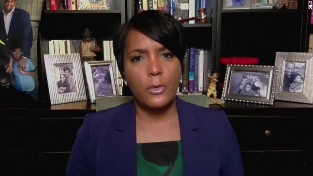 Atlanta Mayor Keisha Lance Bottoms.