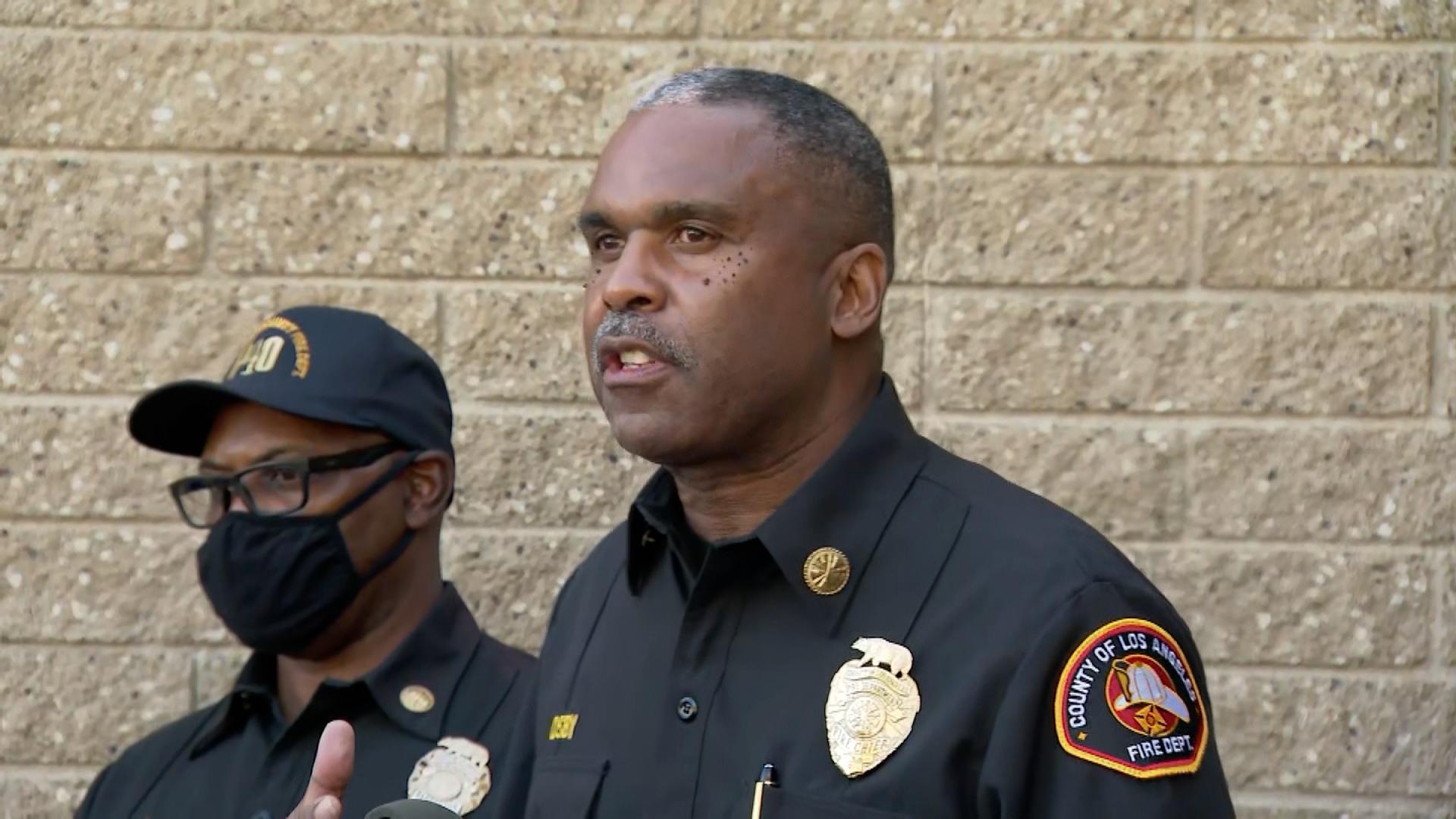 County Fire Chief Daryl Osby.