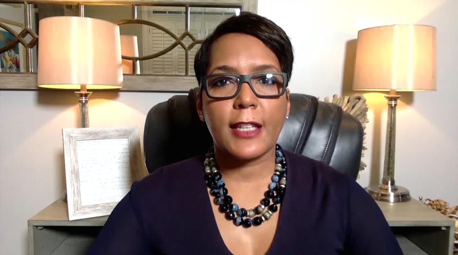 Atlanta Mayor Keisha Lance Bottoms speaks with CNN on Friday, January 22.