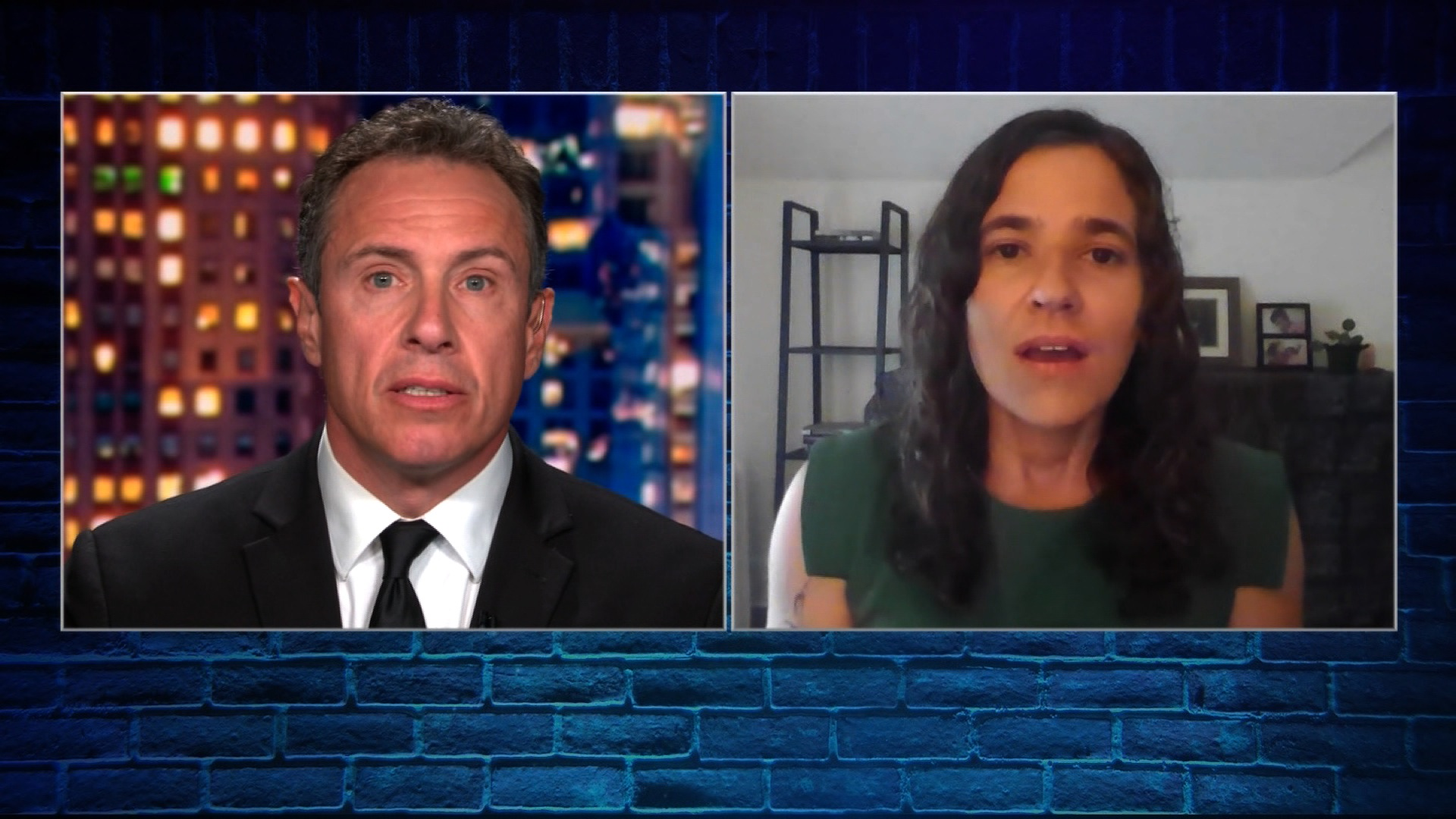 Lisa Bender speaks with Chris Cuomo on Cuomo Prime Time.