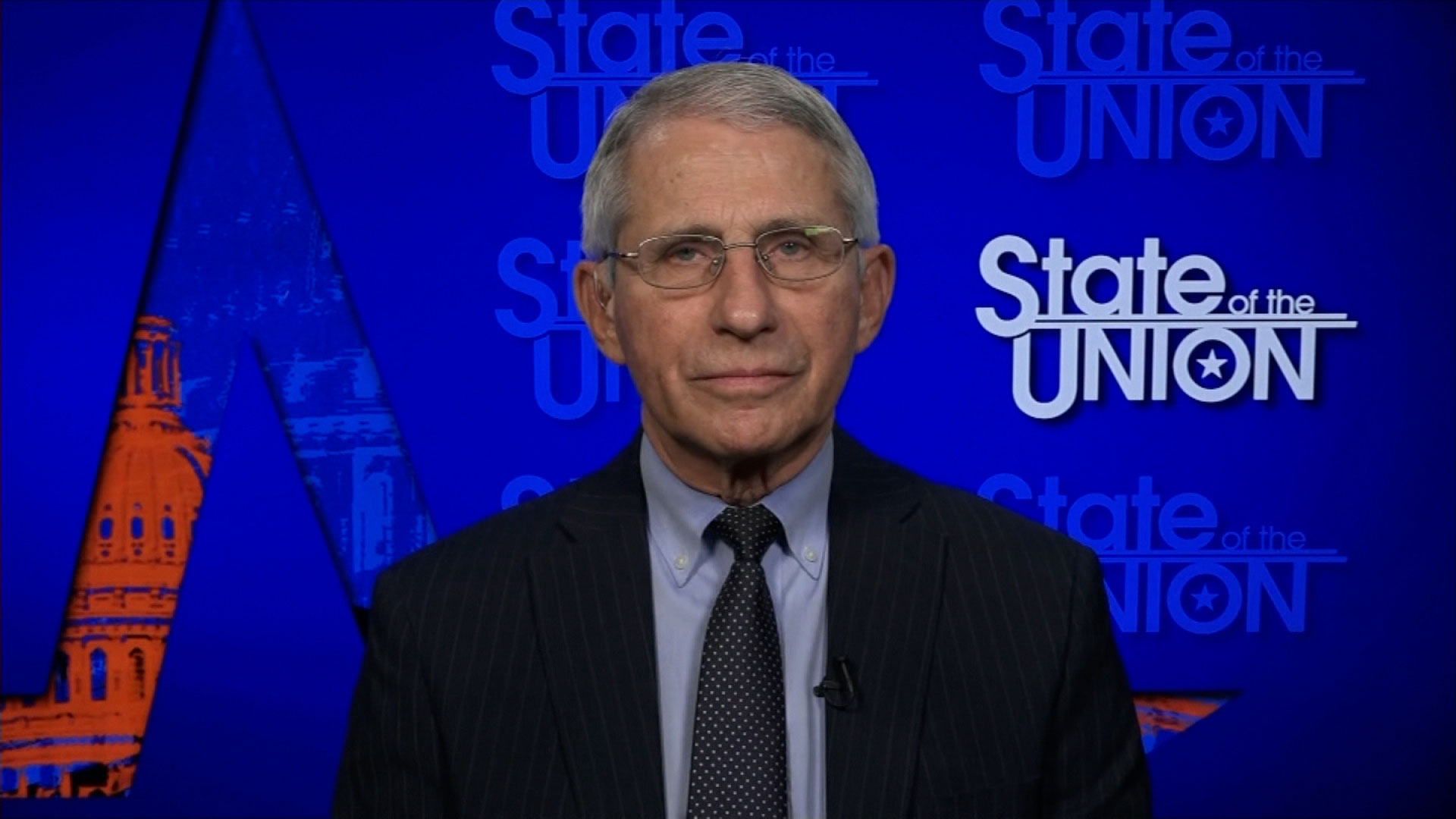Dr. Anthony Fauci, director of the National Institutes of Allergy and Infectious Diseases, on April 18.