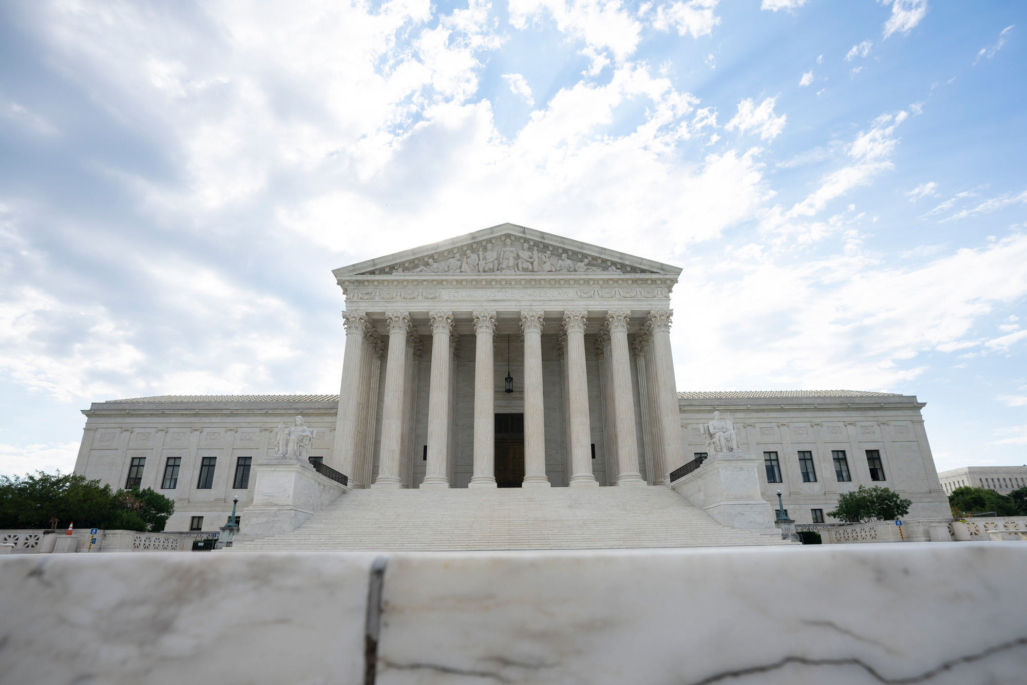 A general view of the U.S. Supreme Court is seen on June 30 in Washington, DC.