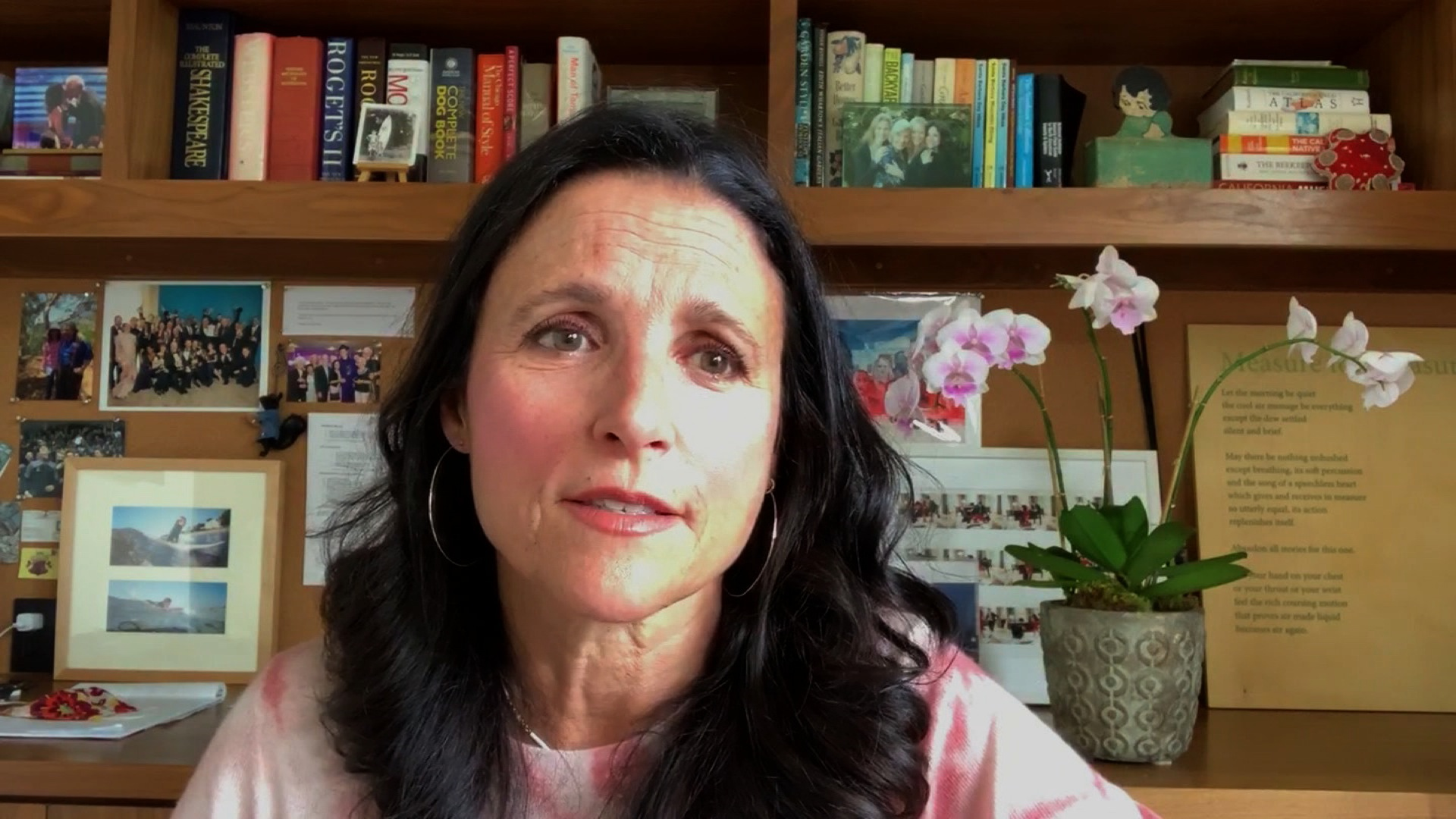 Julia Louis-Dreyfus speaks at CNN's Citizen virtual conference on September 22.