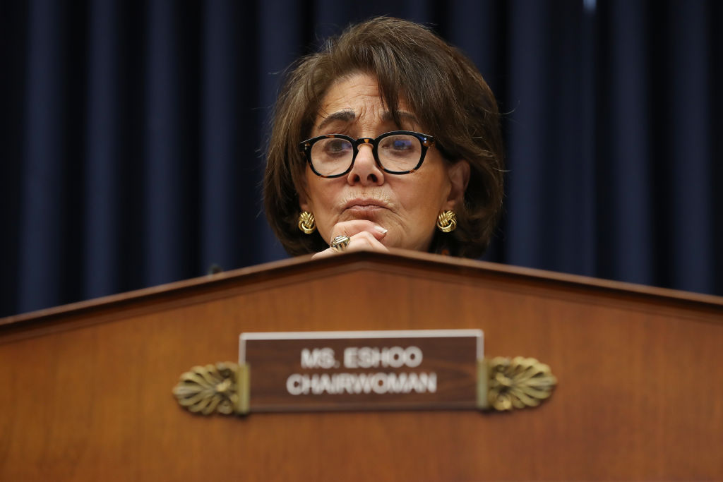 Rep. Anna Eshoo, the chairwoman of the House's Health subcommittee, is seen on Capitol Hill on February 26.