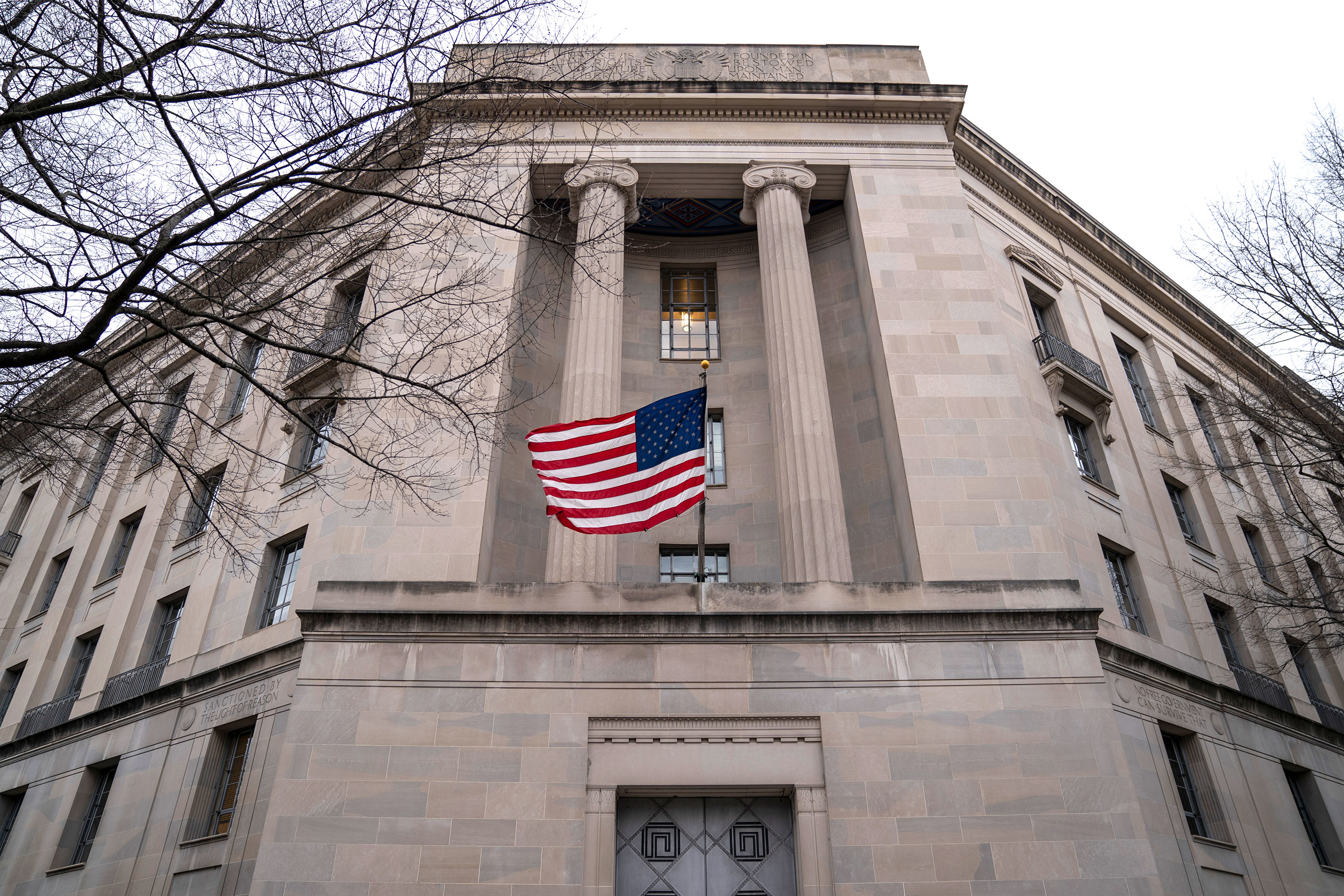 The Department of Justice headquarters in Washington, D.C.
