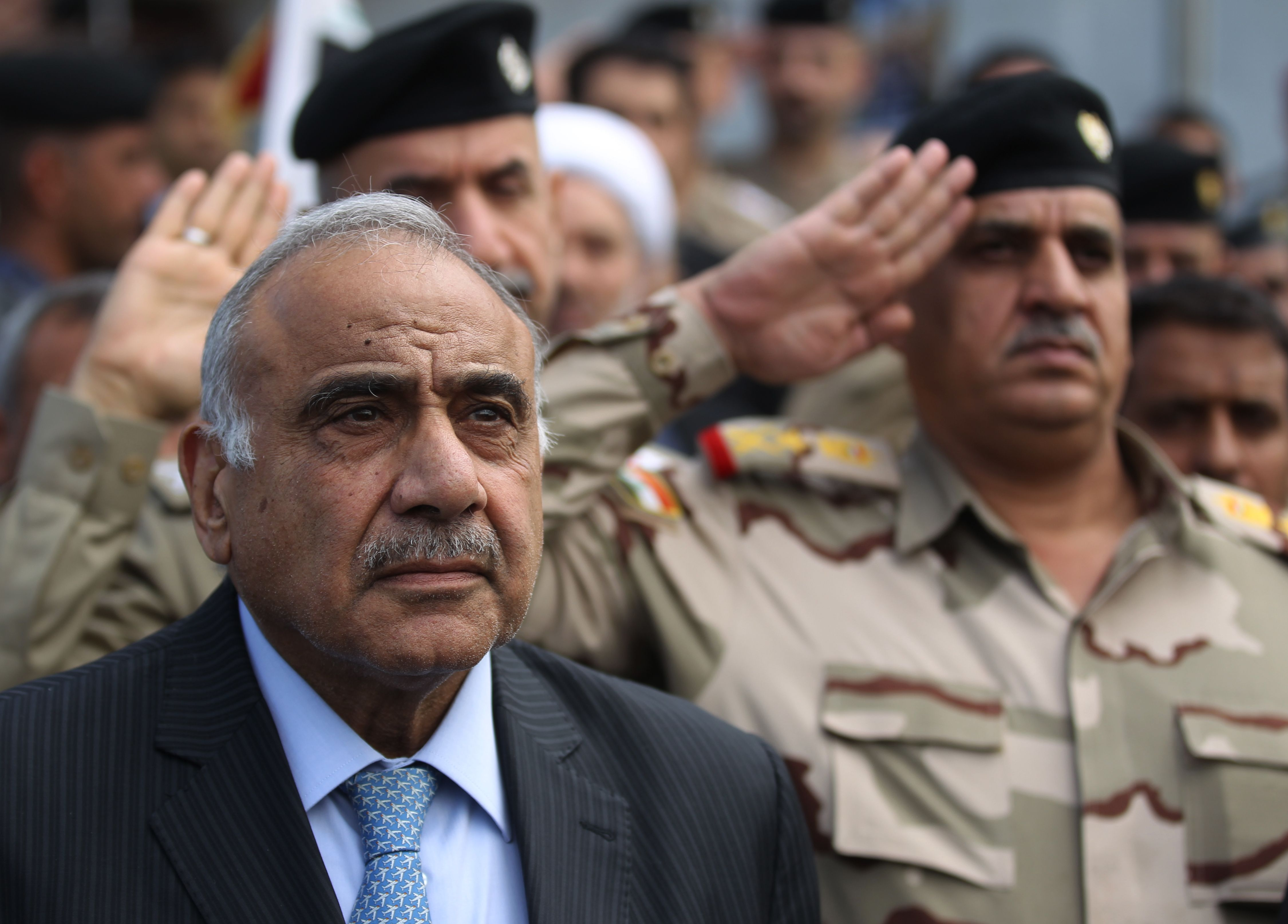 AHMAD AL-RUBAYE/AFP via Getty Images