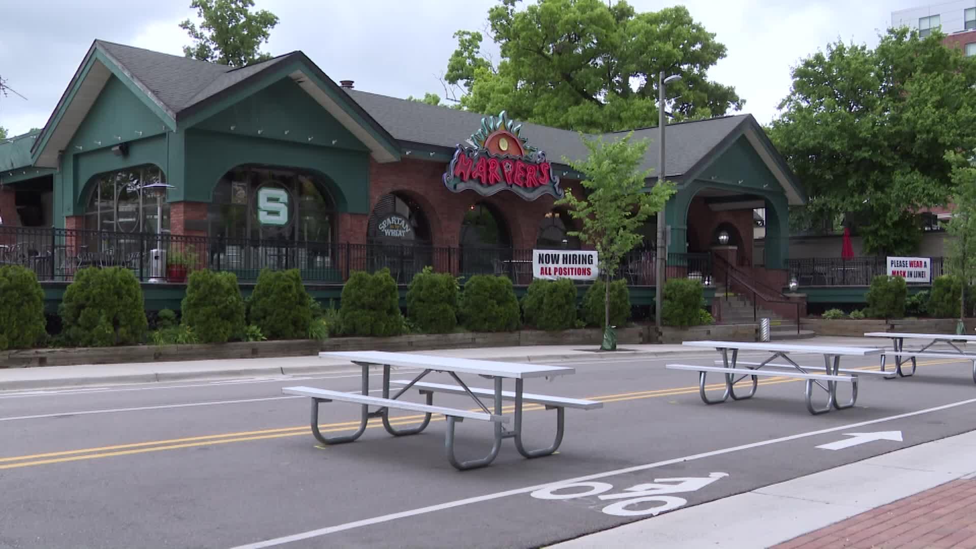 Harper's Restaurant & Brew Pub in East Lansing, Michigan.