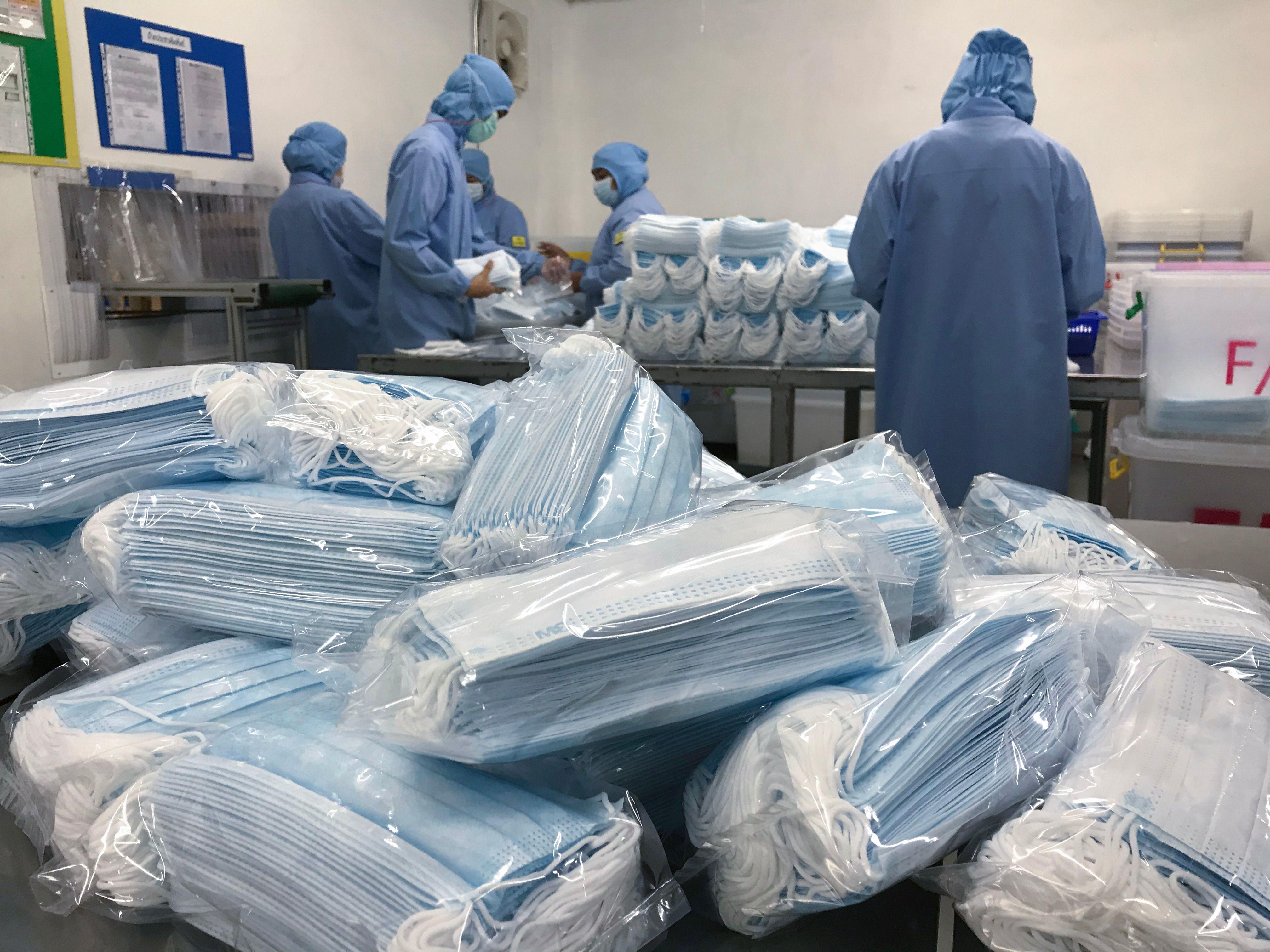 China needs more medical supplies.