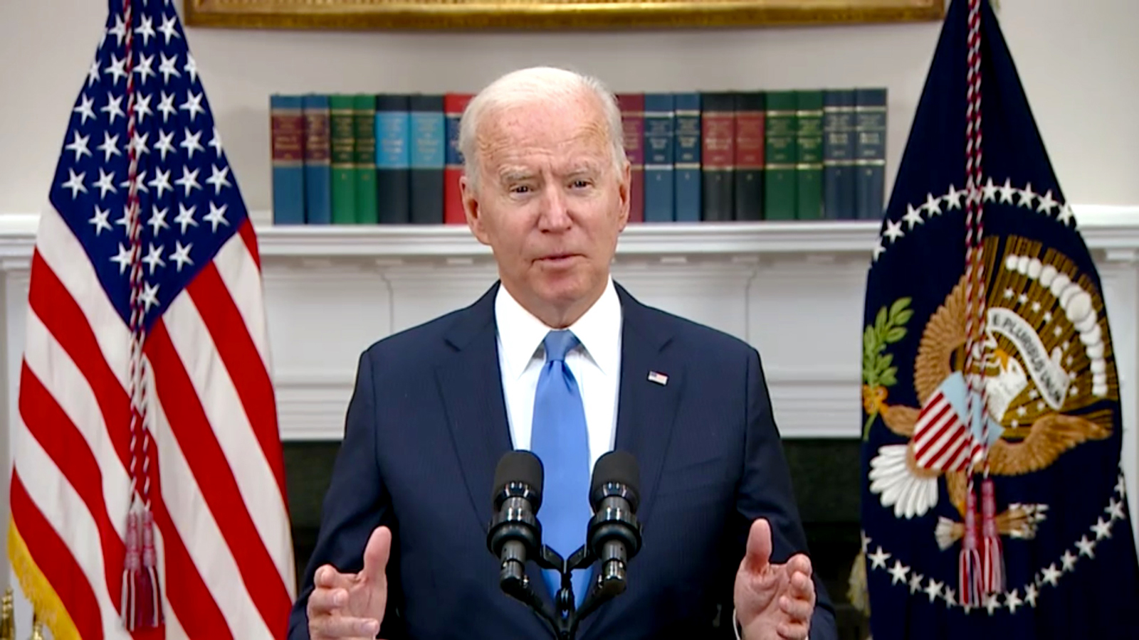 Biden confident that Russian government not involved in pipeline attack