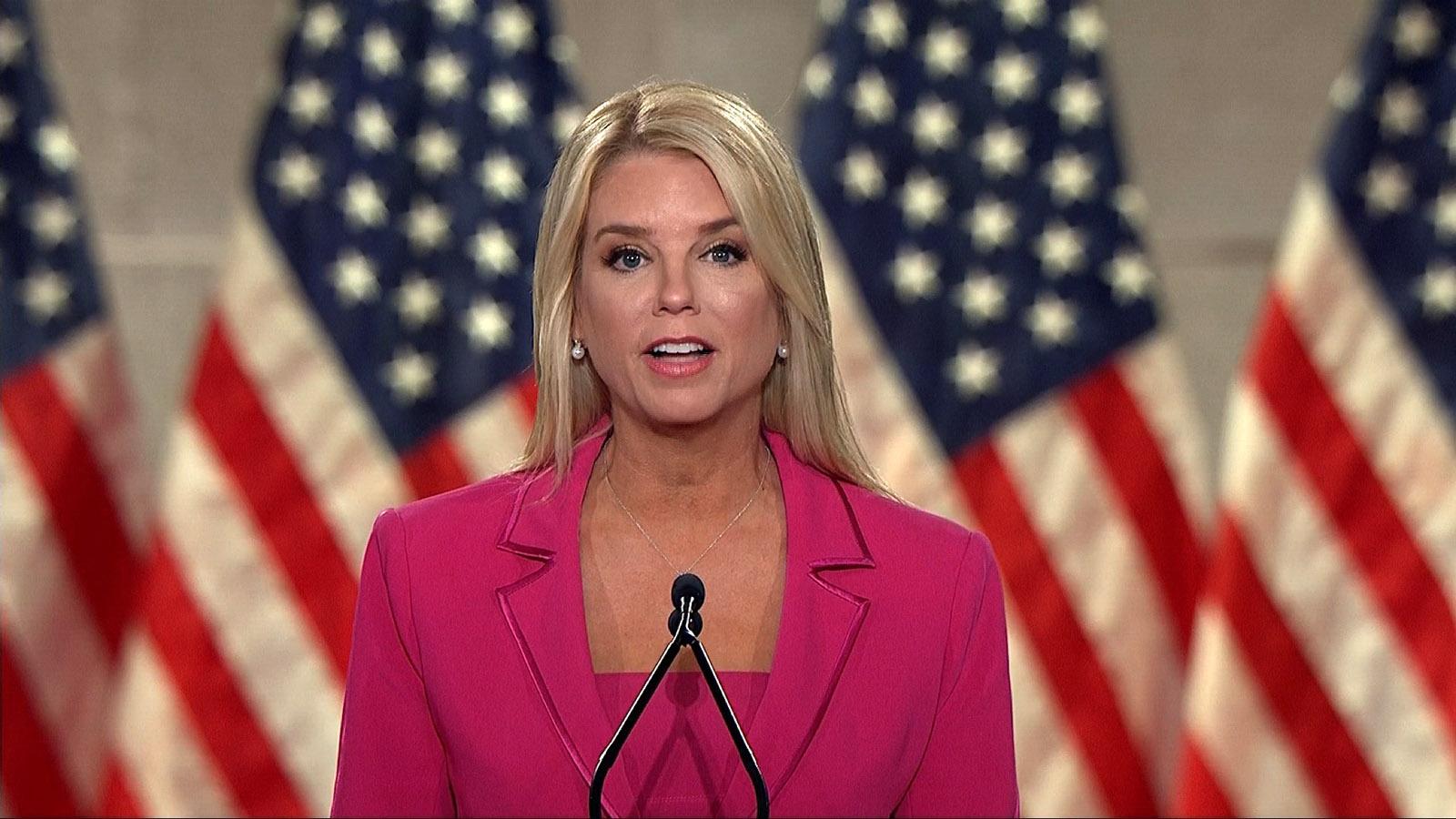 Former Florida Attorney General Pam Bondi.