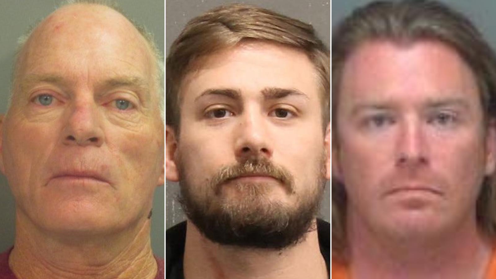 From left, Richard Barnett, Eric Munchel and Adam Johnson.