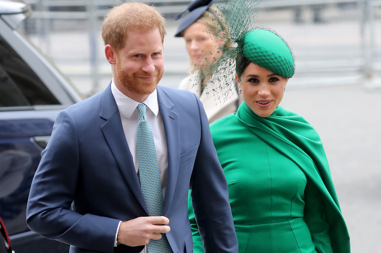 Prince Harry and Meghan, Duchess of Sussex, attend Commonwealth Day Service in London on March 9, 2020.