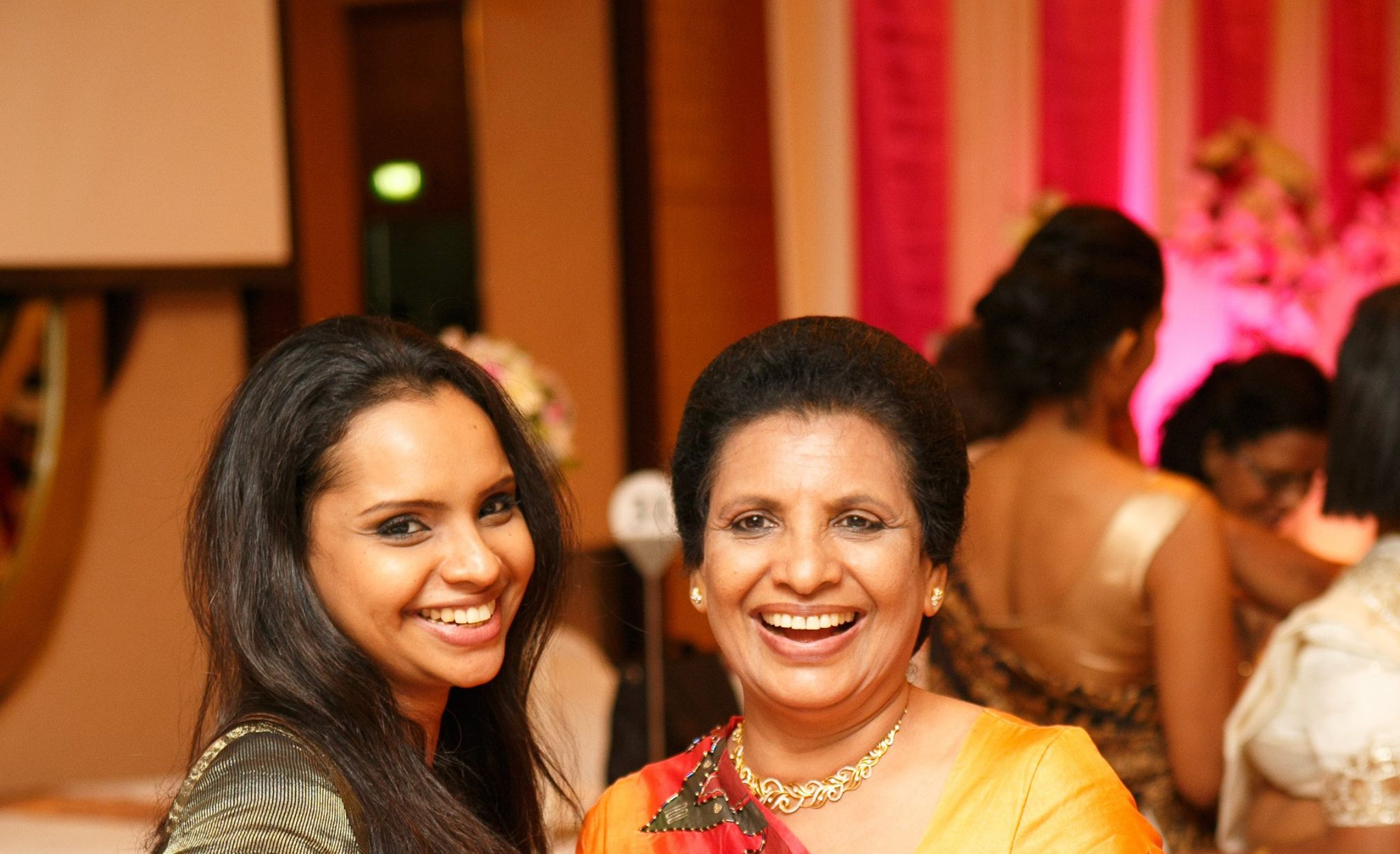 Nisanga Mayadunne, pictured left, and Shantha Mayadunne, pictured right, in a photo posted to Nisanga's Facebook page.