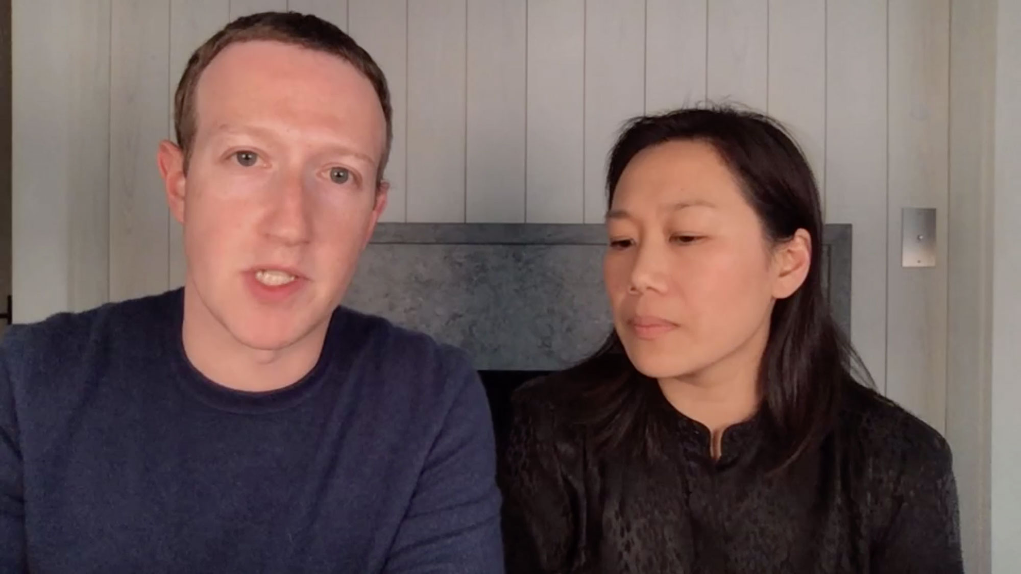Facebook CEO Mark Zuckerberg and Dr. Priscilla Chan