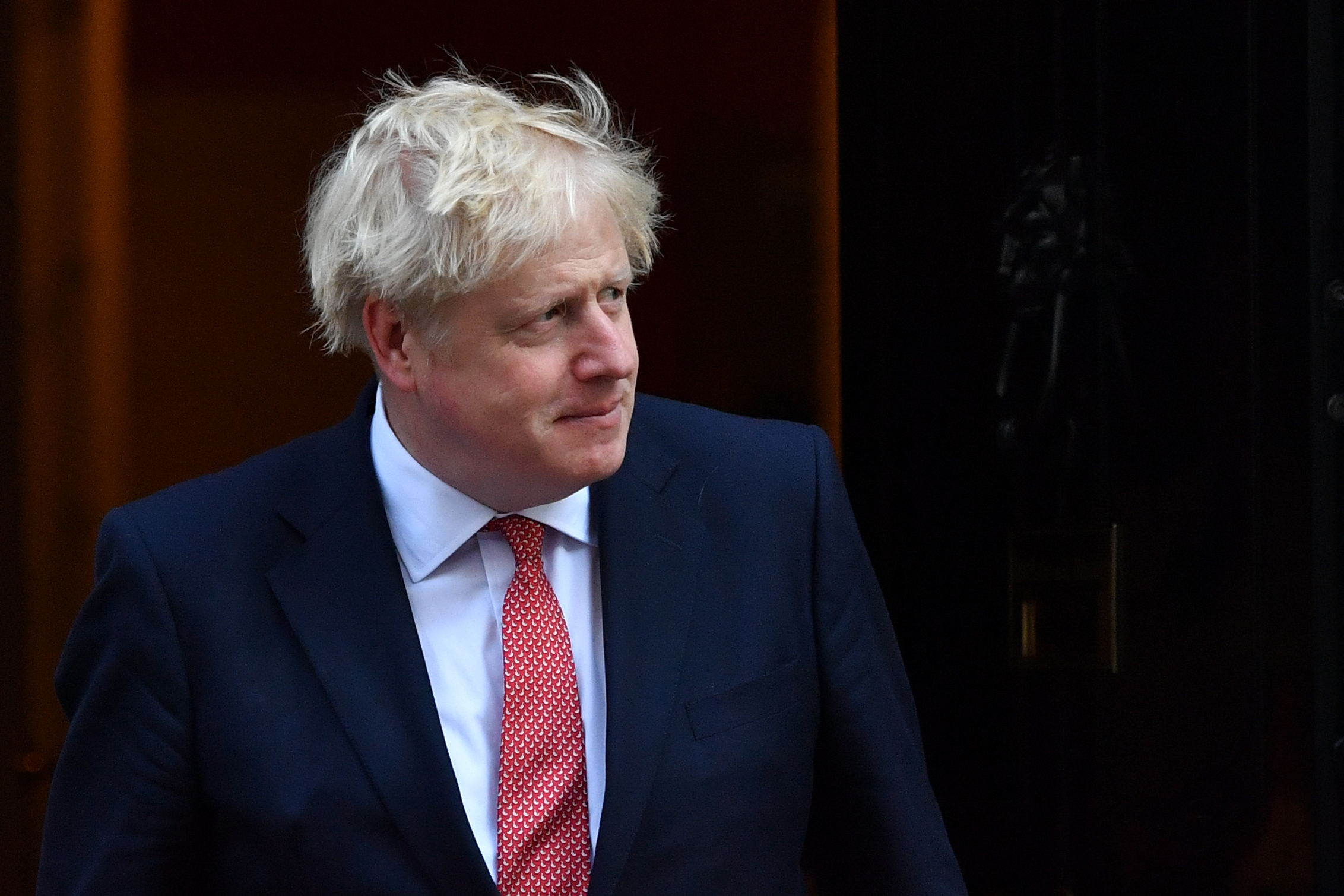 British Prime Minister Boris Johnson at 10 Downing Street, London, on September 20, 2019.