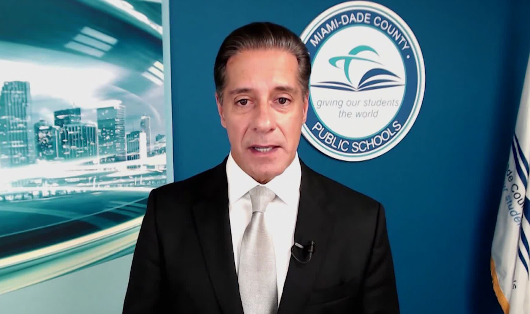 Miami-Dade County Public Schools Superintendent Alberto Carvalho speaks with CNN on July 9.