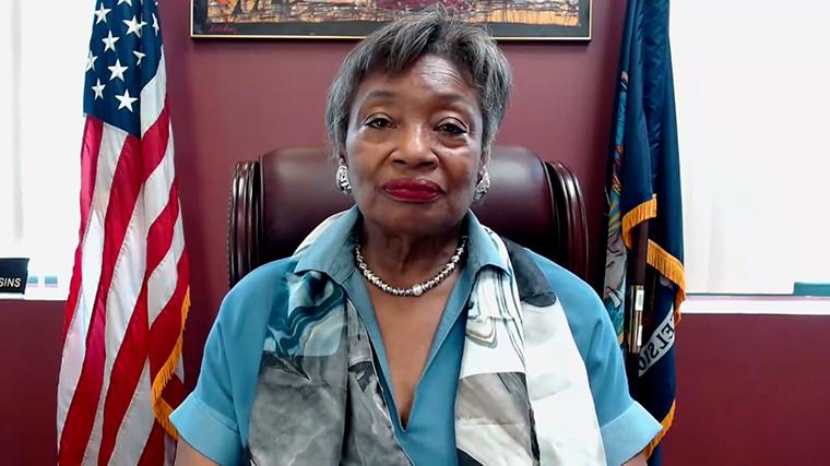 New York State Senate Majority Leader Andrea Stewart-Cousins