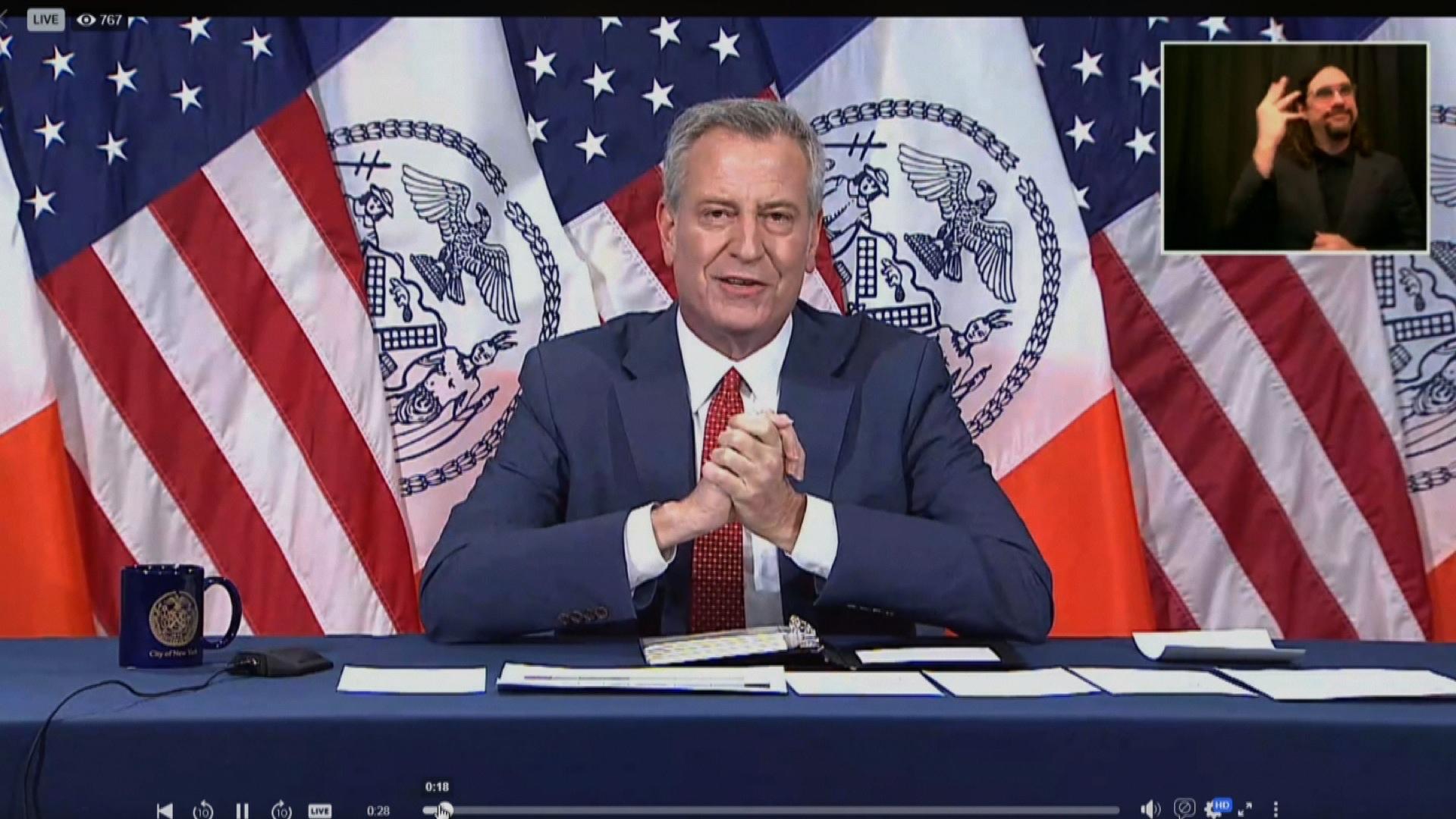 Mayor Bill de Blasio's Office