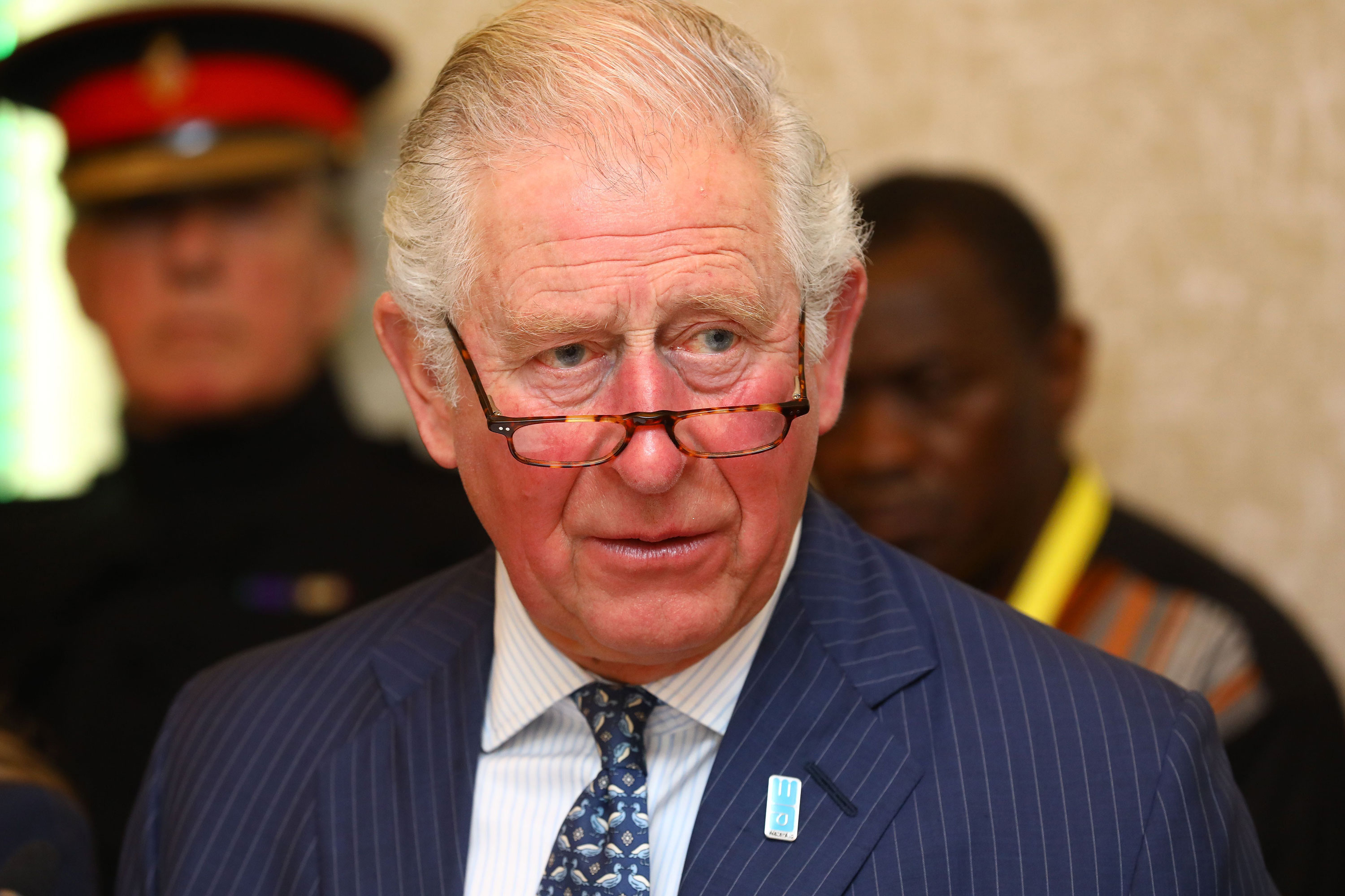 Prince Charles is pictured on March 10.