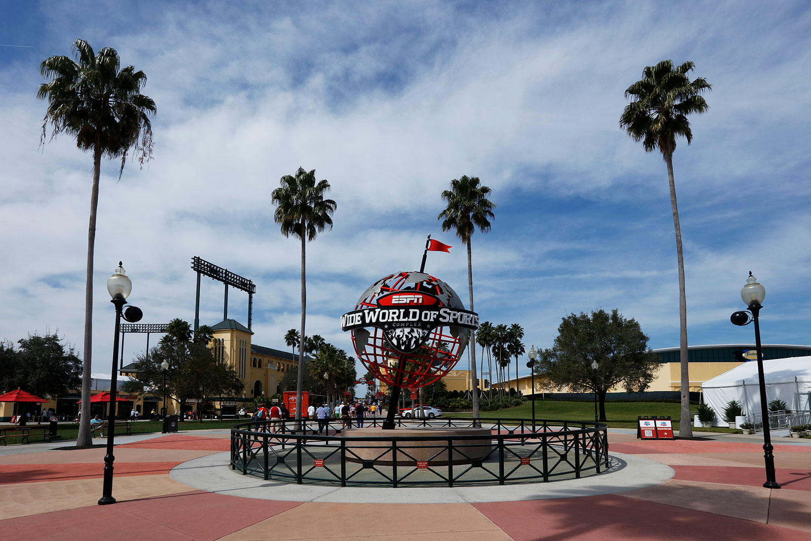 The ESPN Wide World of Sports Complex near Orlando, Florida.