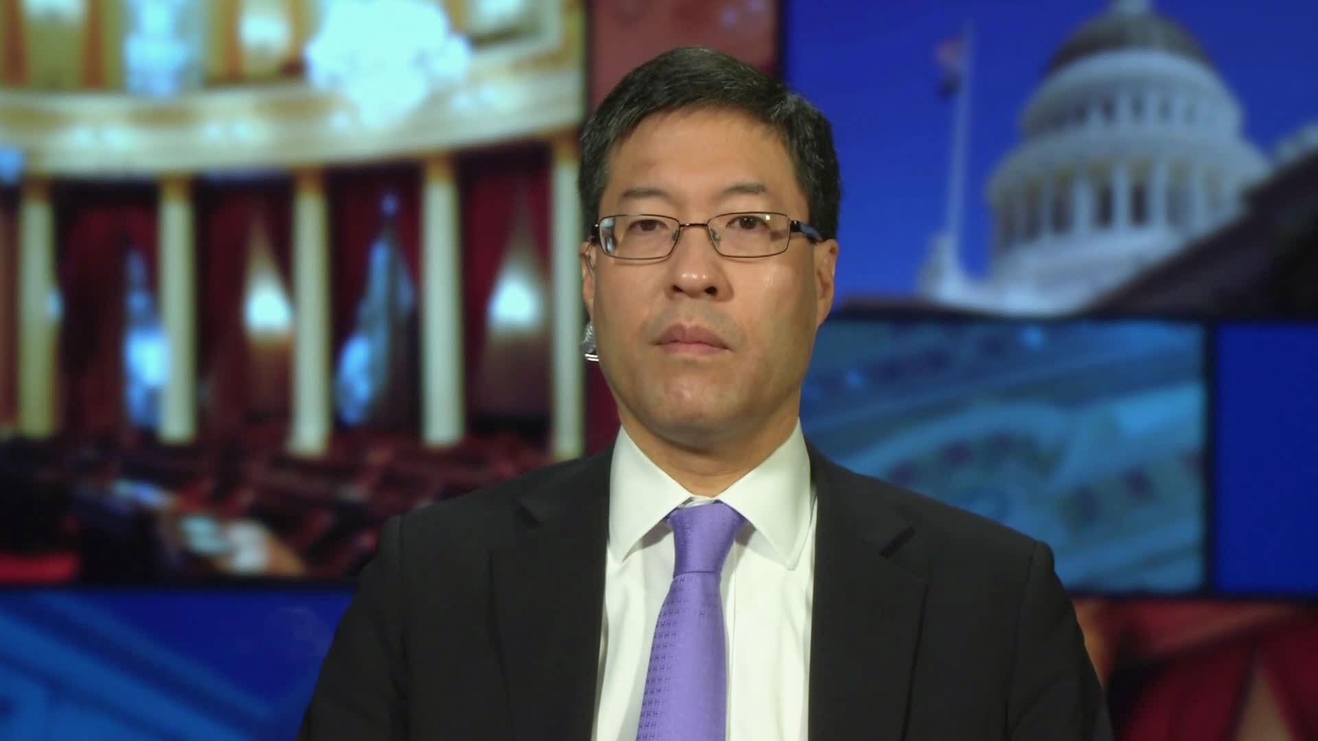 California State Senator Dr. Richard Pan speaks with CNN's Kate Bolduan on July 1.
