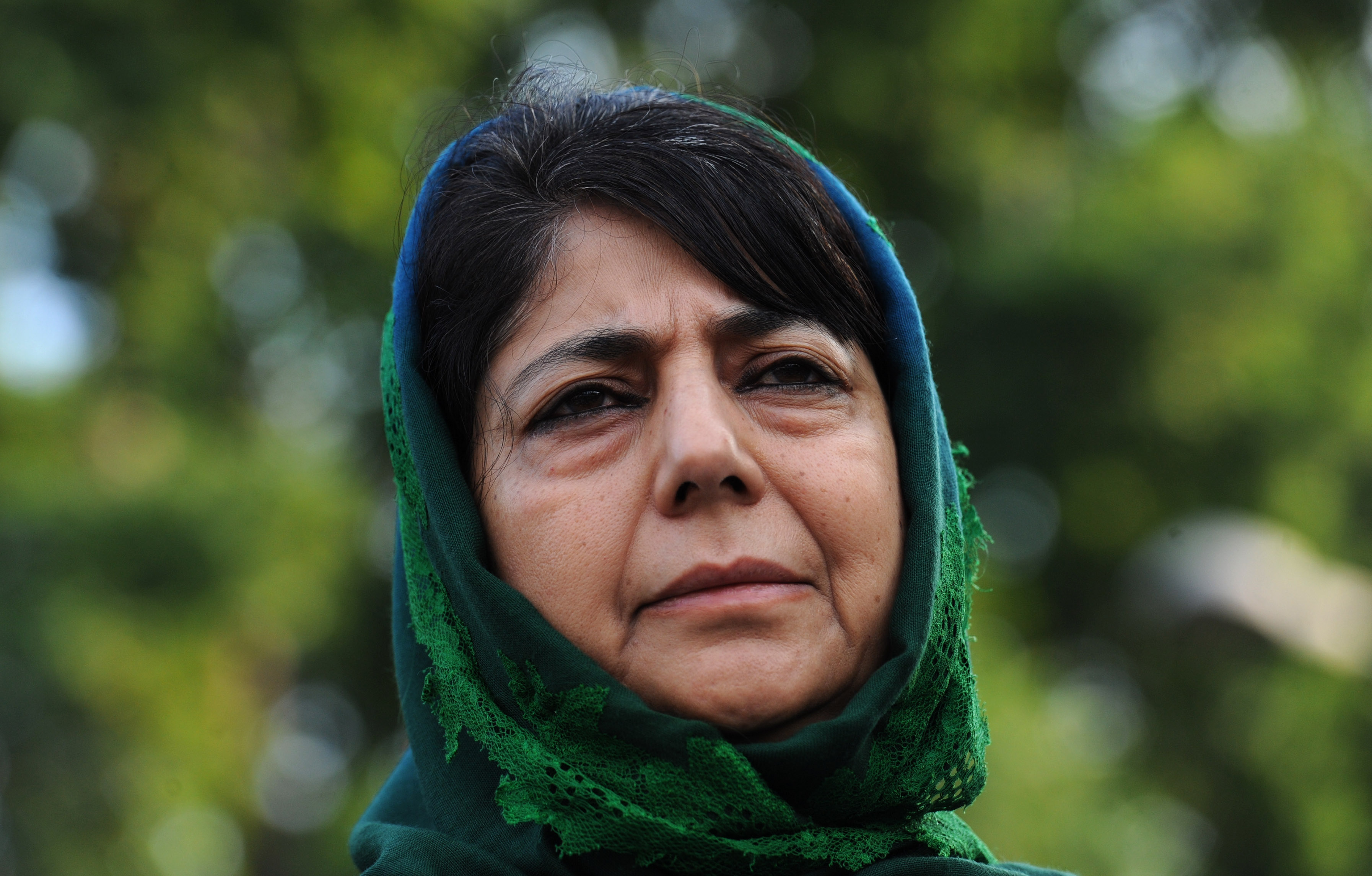 Mehbooba Mufti pictured in July 2016.
